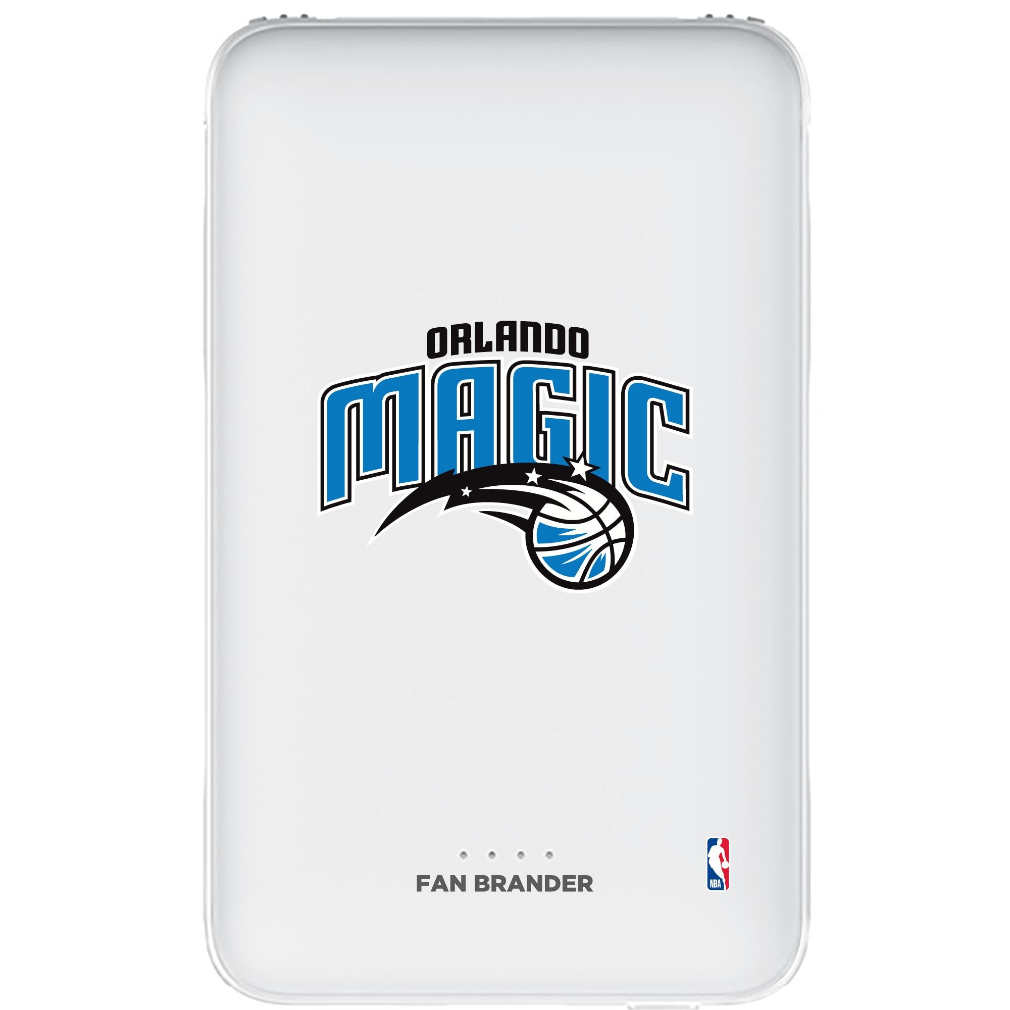 Orlando Magic 5000mAh Portable Power Bank - White