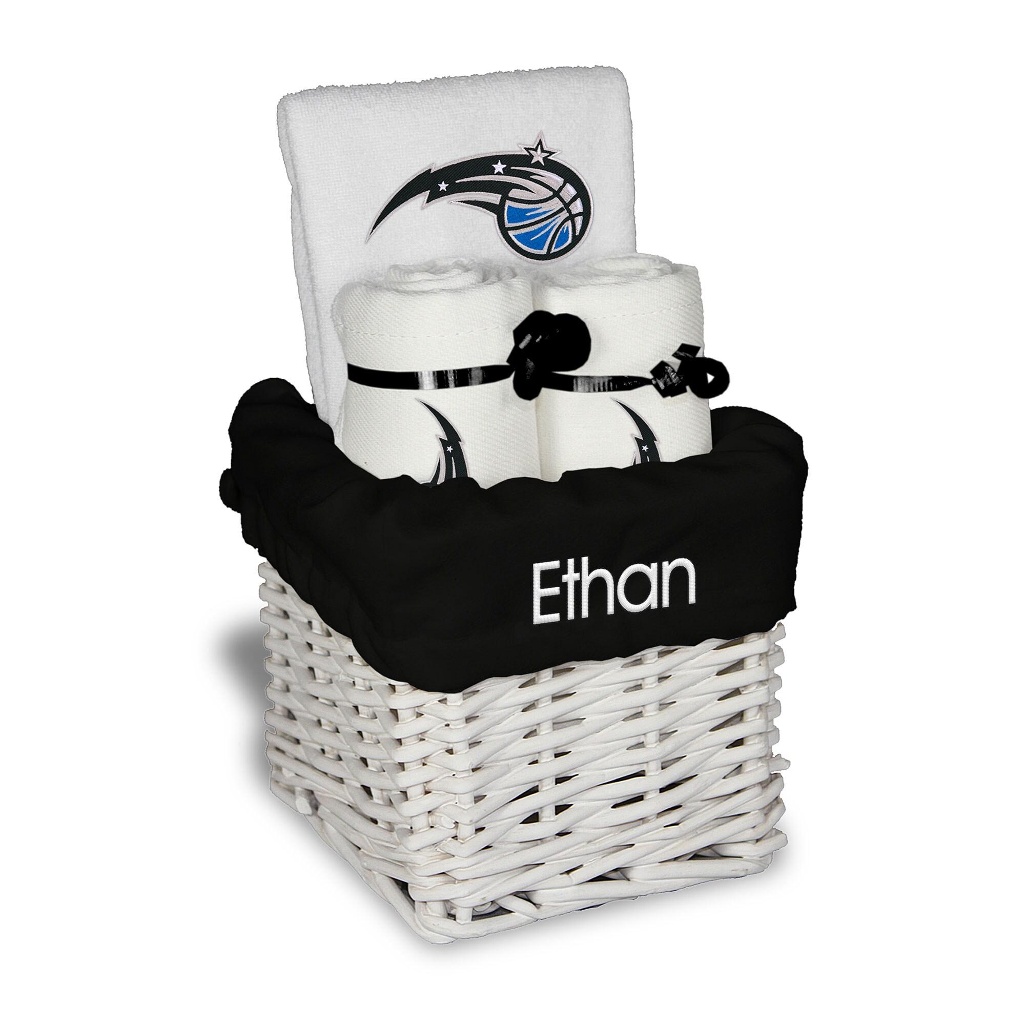 Orlando Magic Personalized Small Gift Basket - White