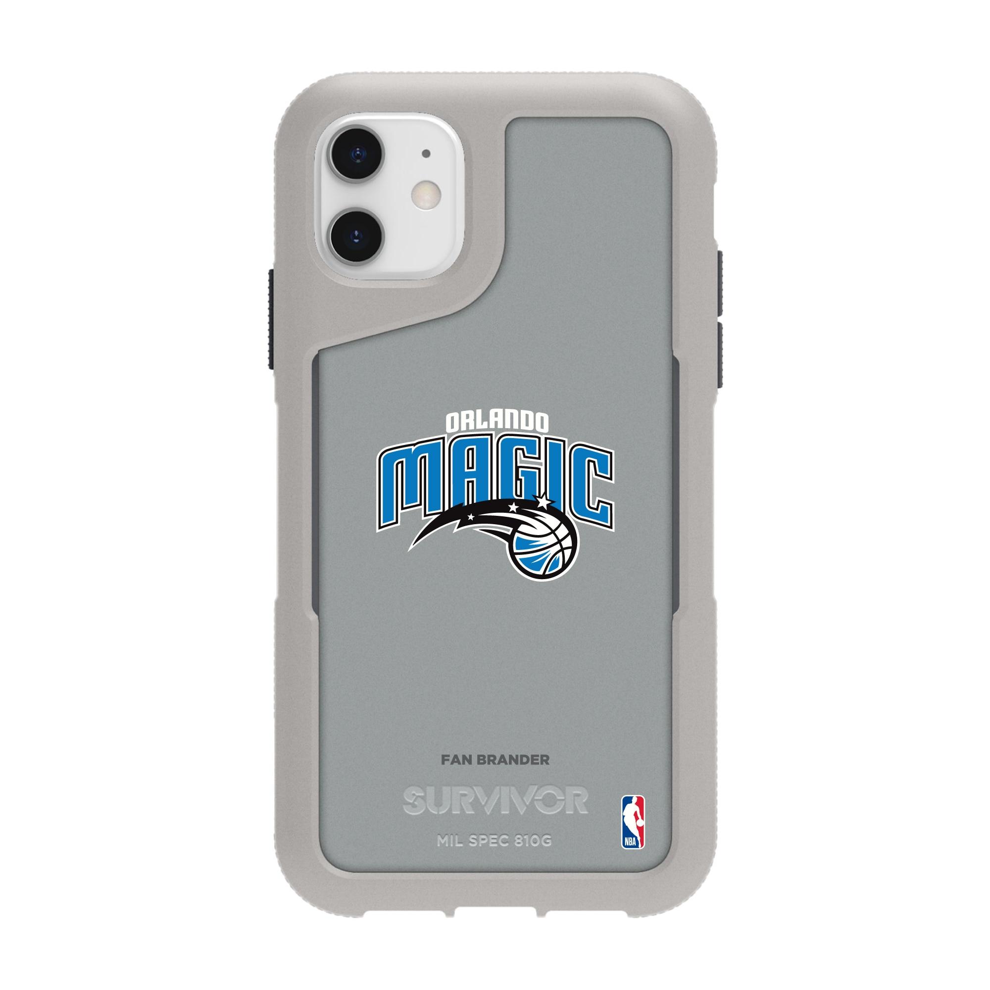 Orlando Magic Griffin Survivor Endurance iPhone Case - Gray
