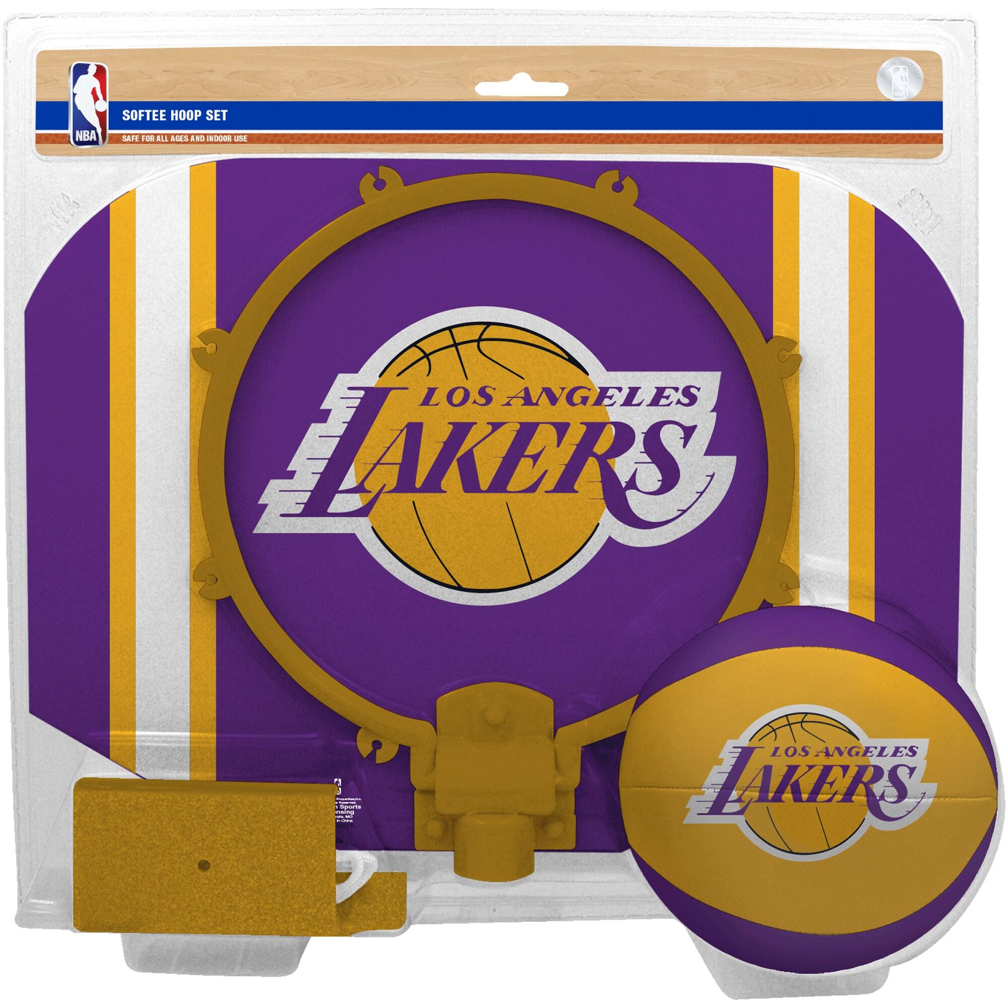 Los Angeles Lakers Rawlings Softee Hoop & Ball Set