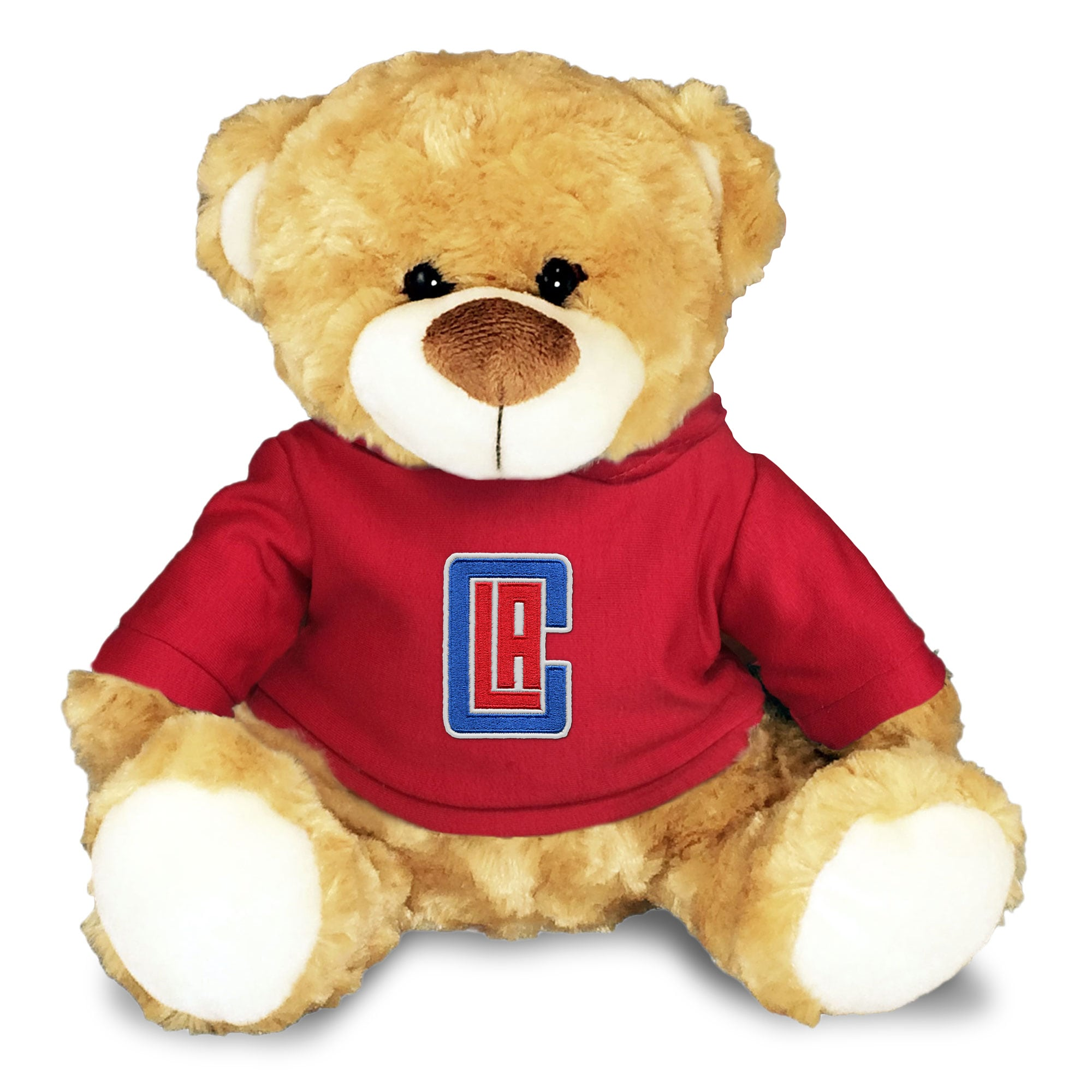 LA Clippers Personalized 10'' Plush Bear - Red
