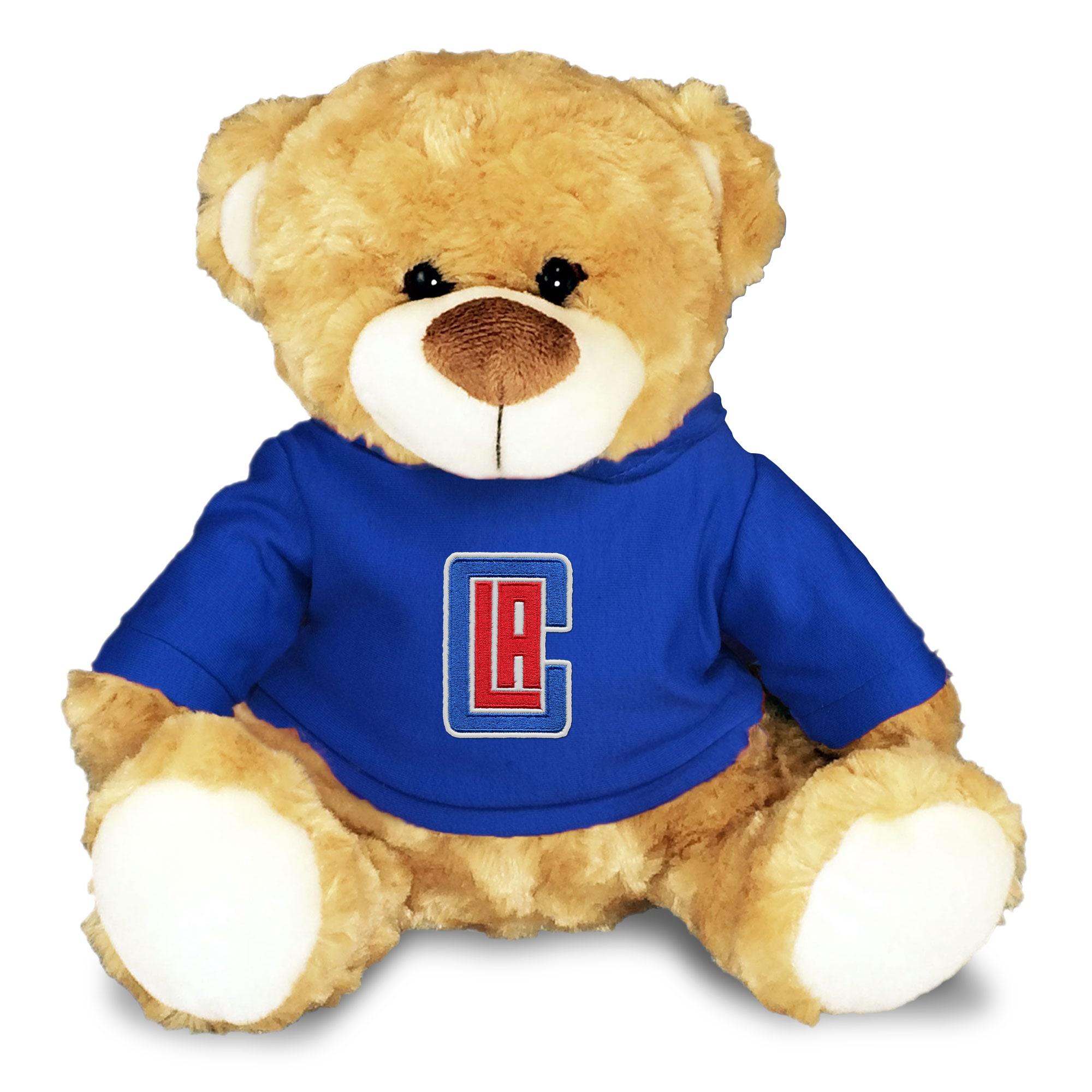 LA Clippers Personalized 10'' Plush Bear - Royal