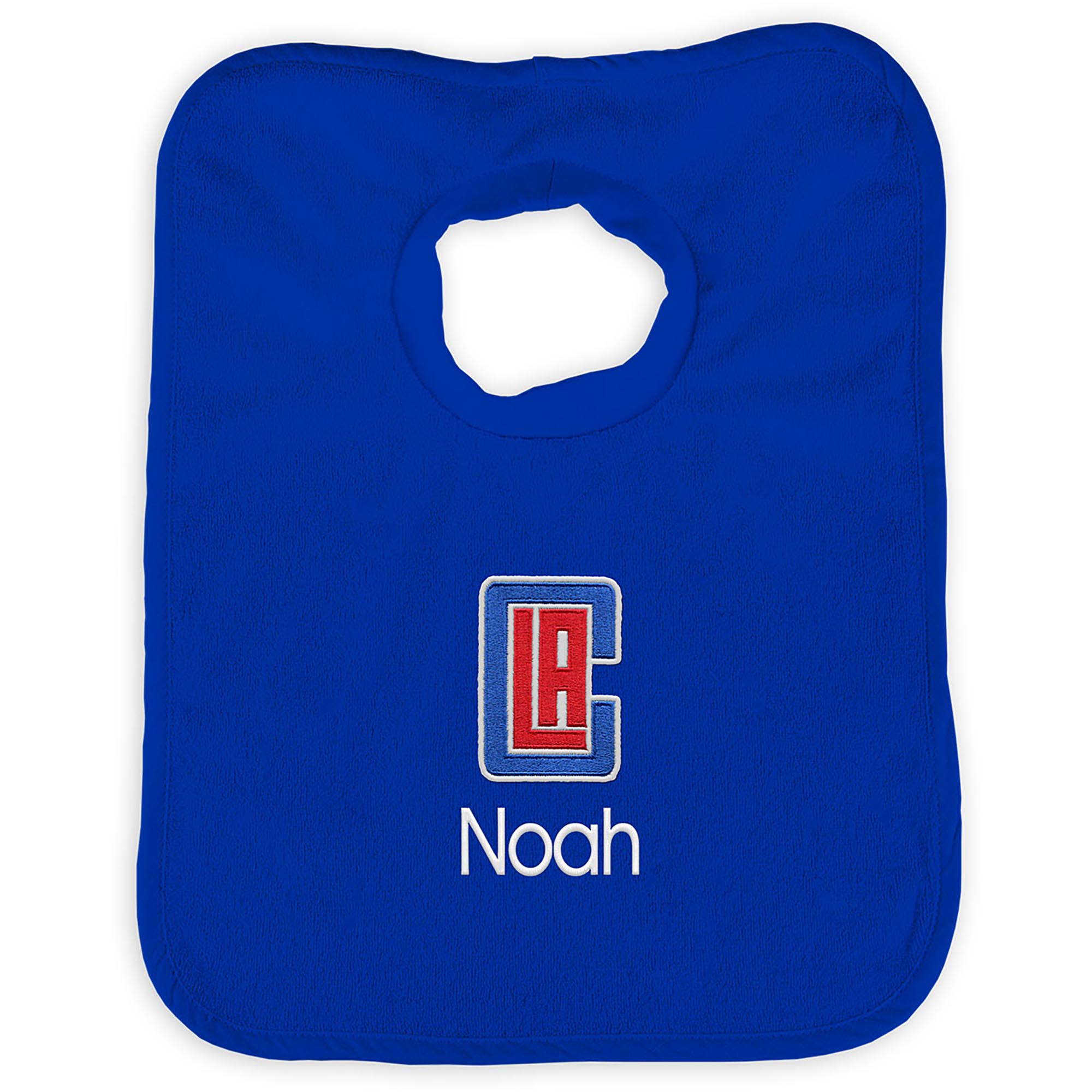 LA Clippers Infant Personalized Bib - Royal