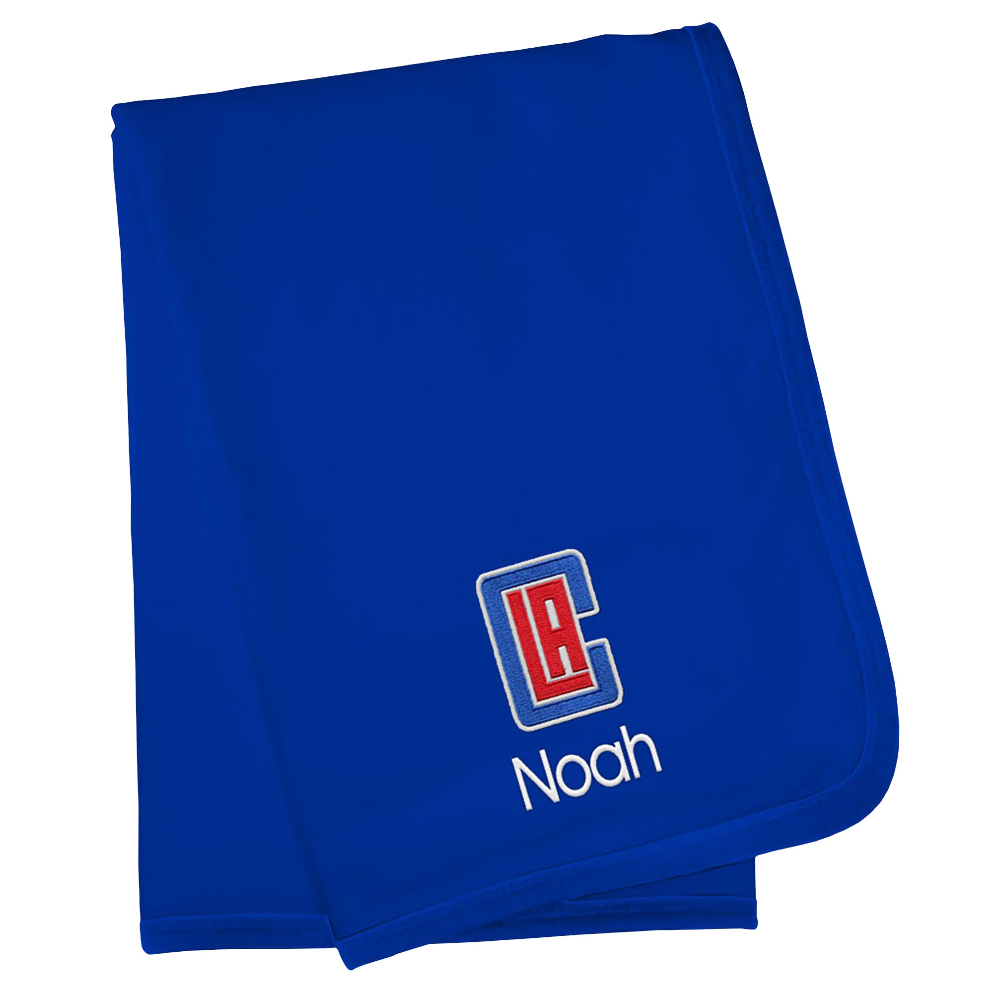 LA Clippers Infant Personalized Blanket - Royal