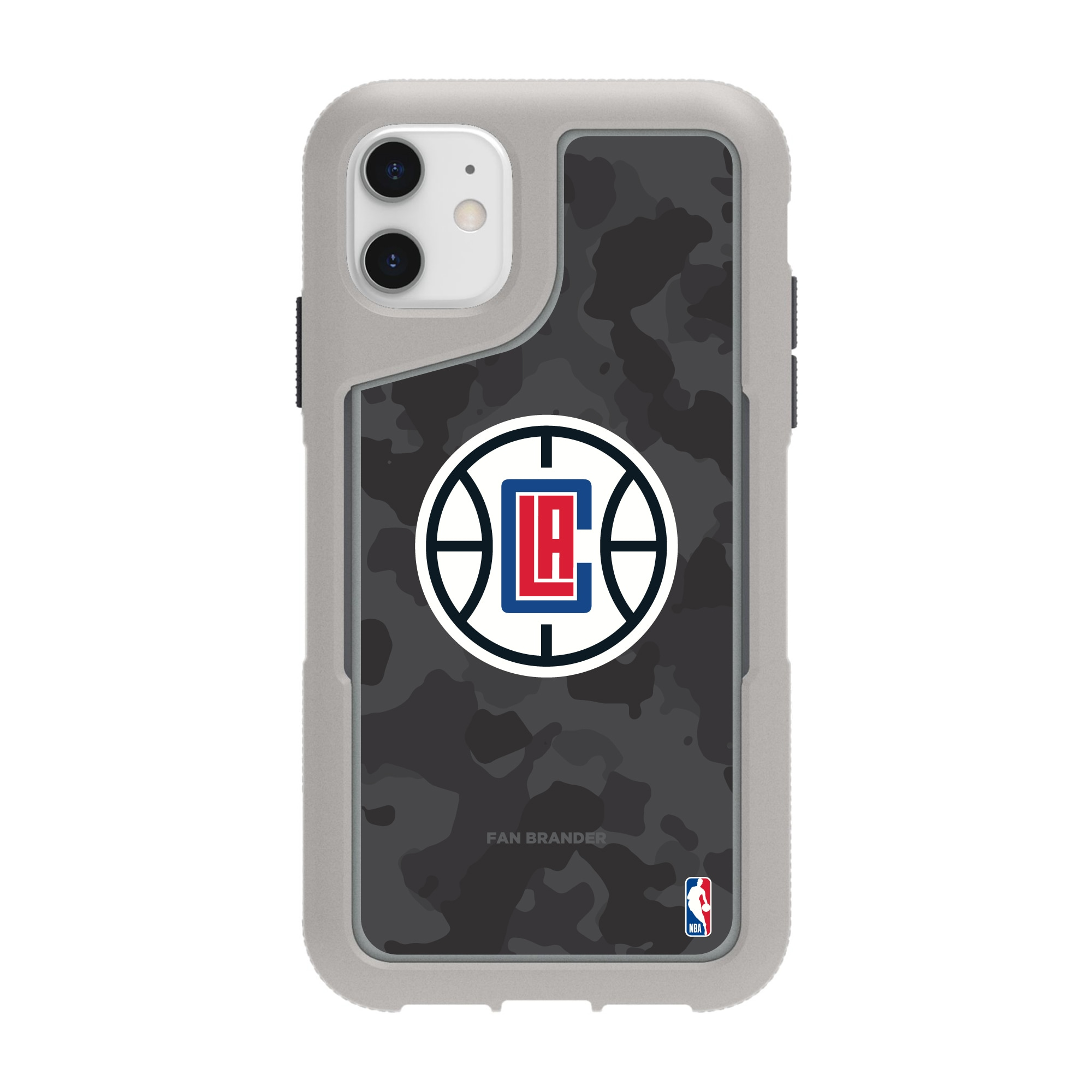 LA Clippers Griffin Survivor Endurance Camo iPhone Case - Gray