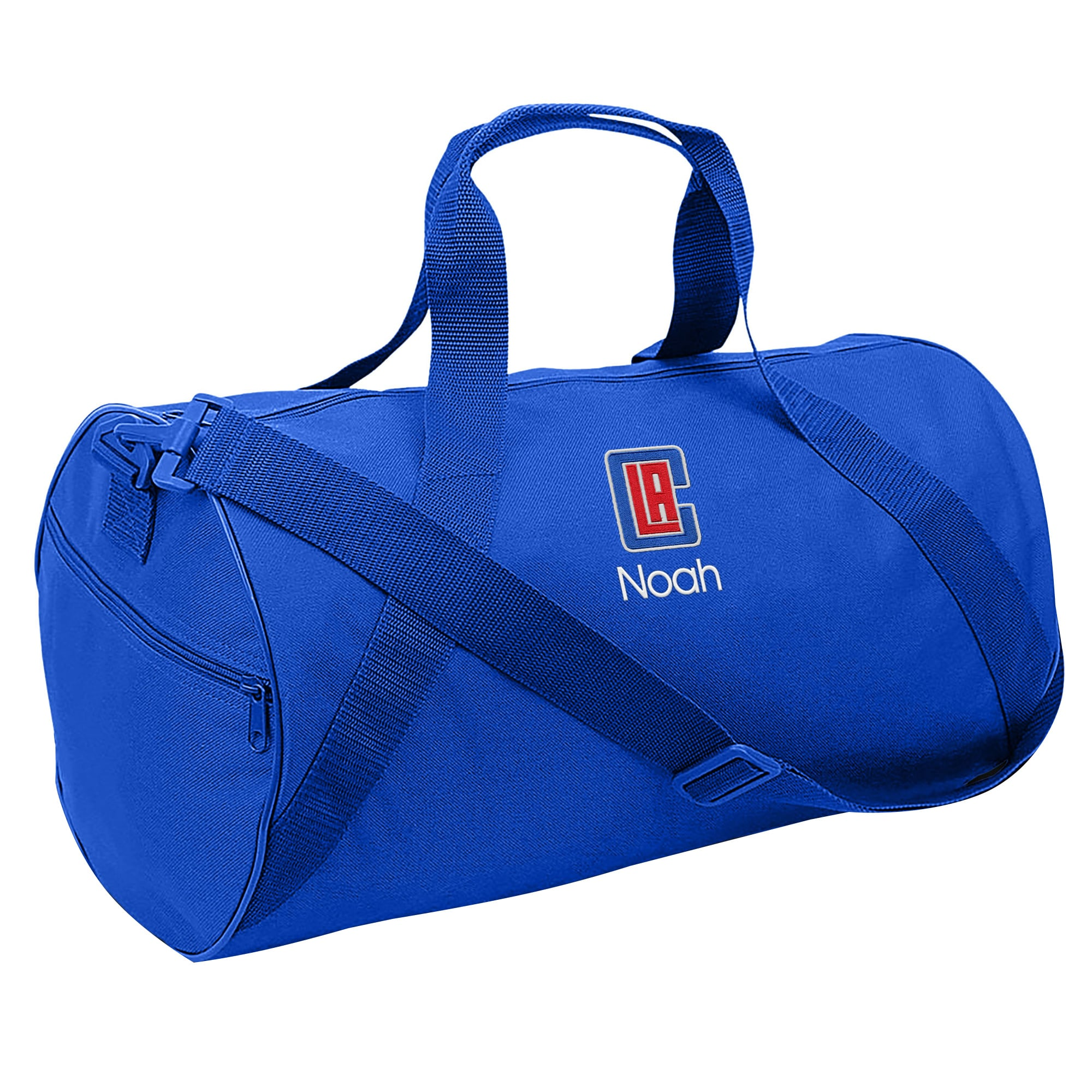 LA Clippers Youth Personalized Duffle Bag - Royal