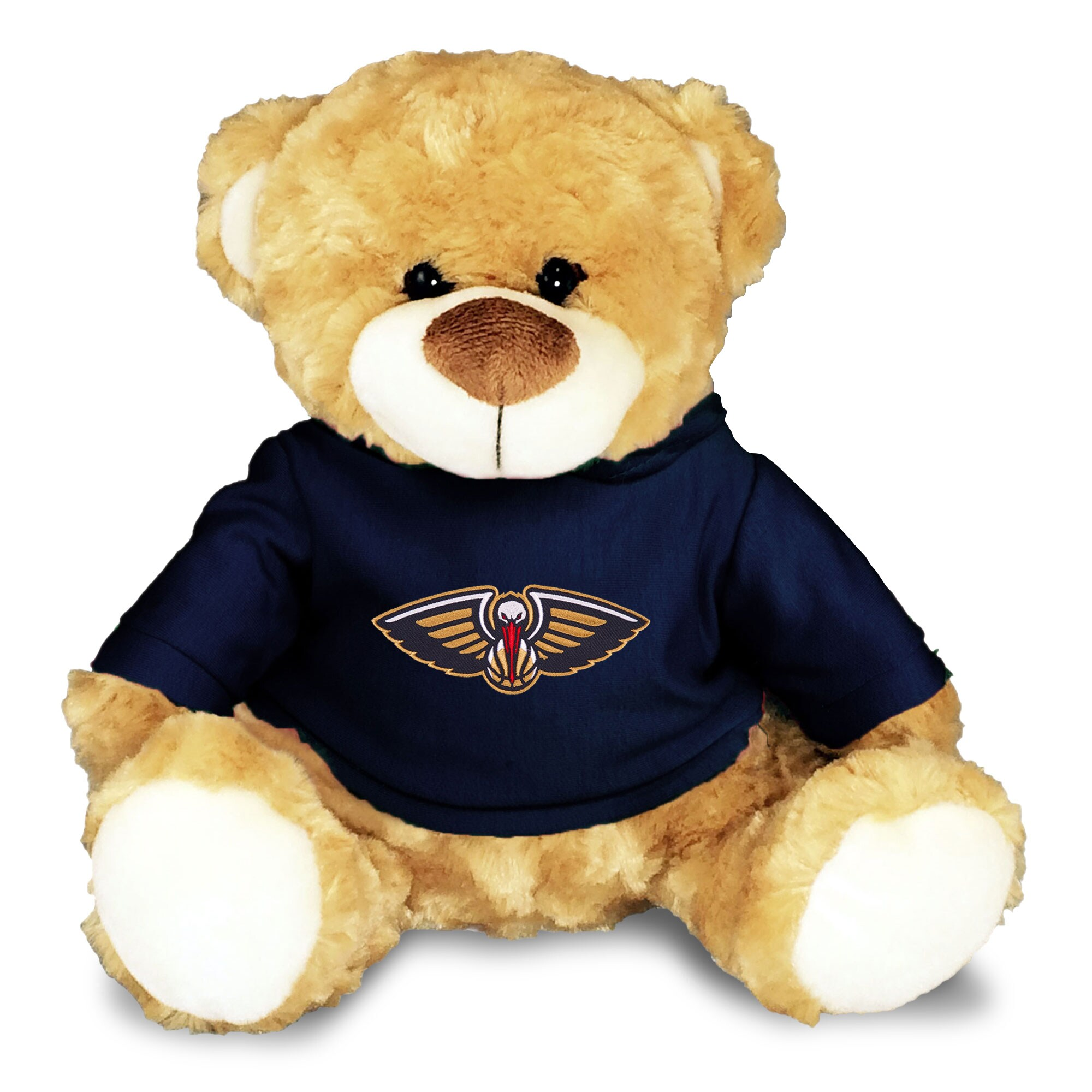 New Orleans Pelicans Personalized 10'' Plush Bear - Navy