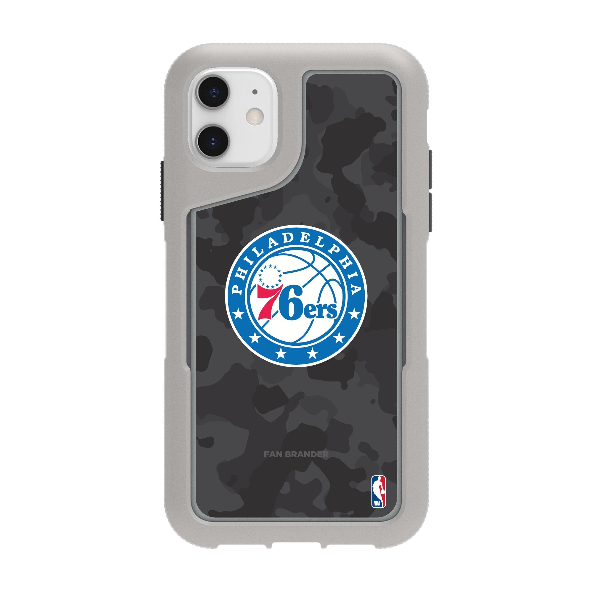 Philadelphia 76ers Griffin Survivor Endurance Camo iPhone Case - Gray