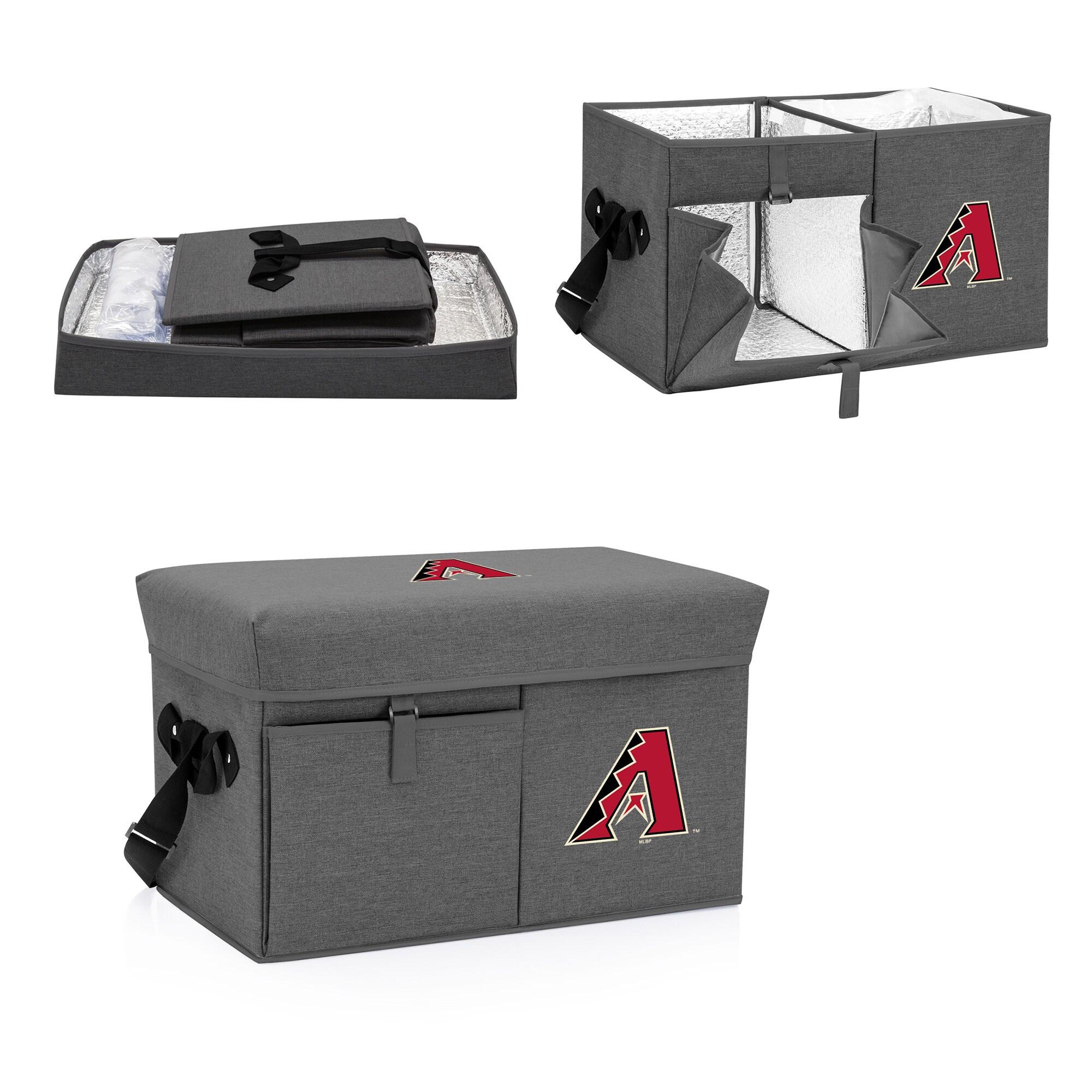 Arizona Diamondbacks Ottoman Cooler & Seat - Gray