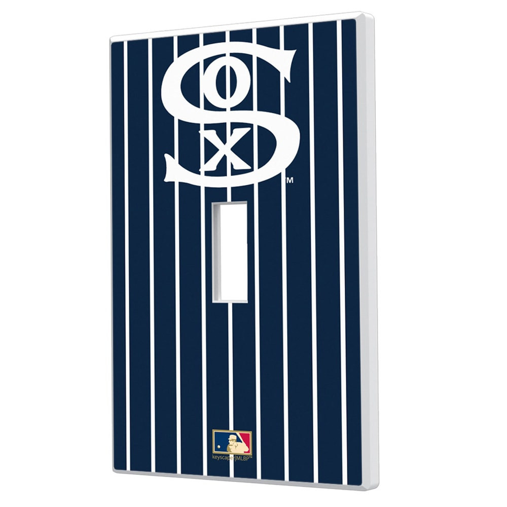 Chicago White Sox 1919 Cooperstown Pinstripe Single Toggle Light Switch Plate