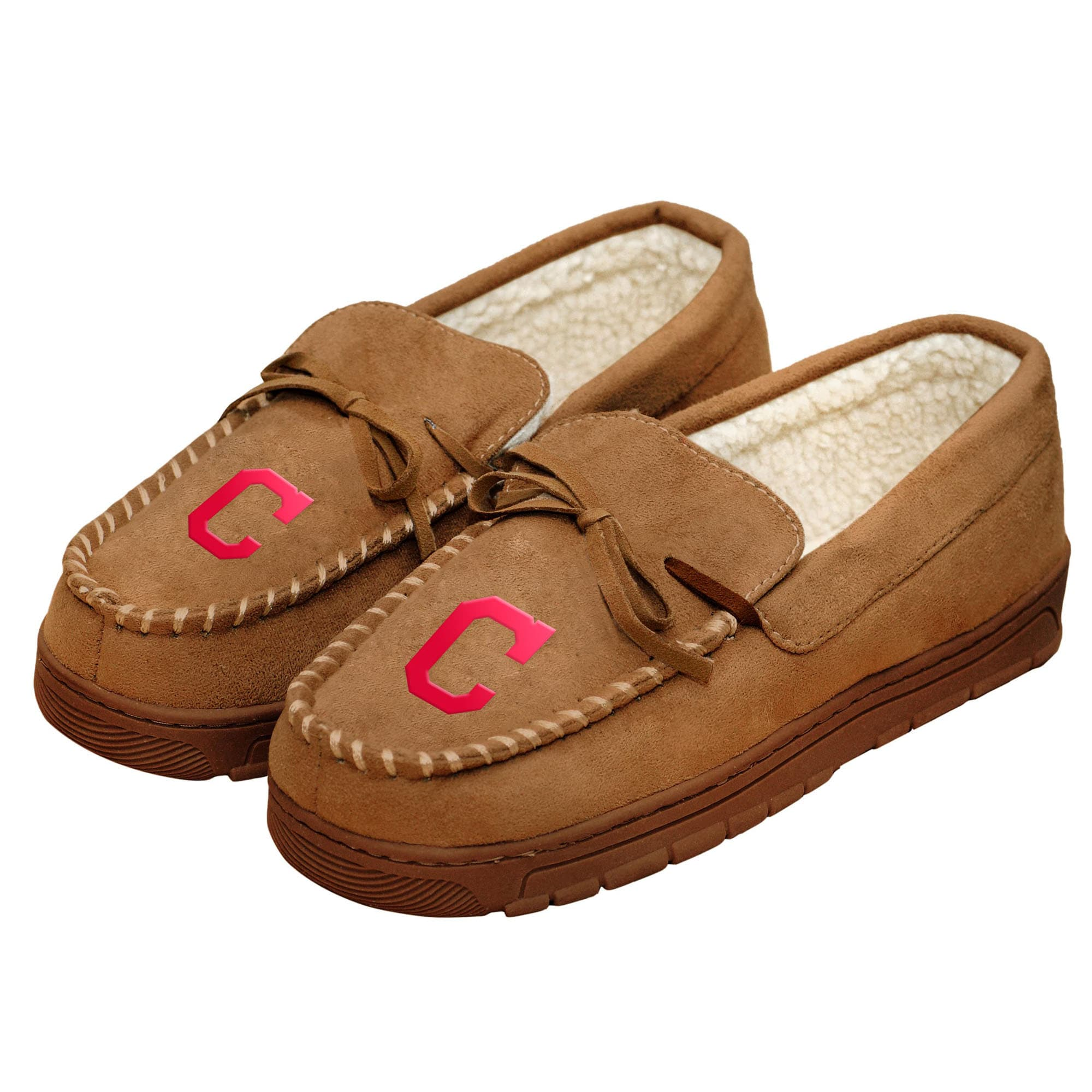 Cleveland Indians Moccasin Slippers