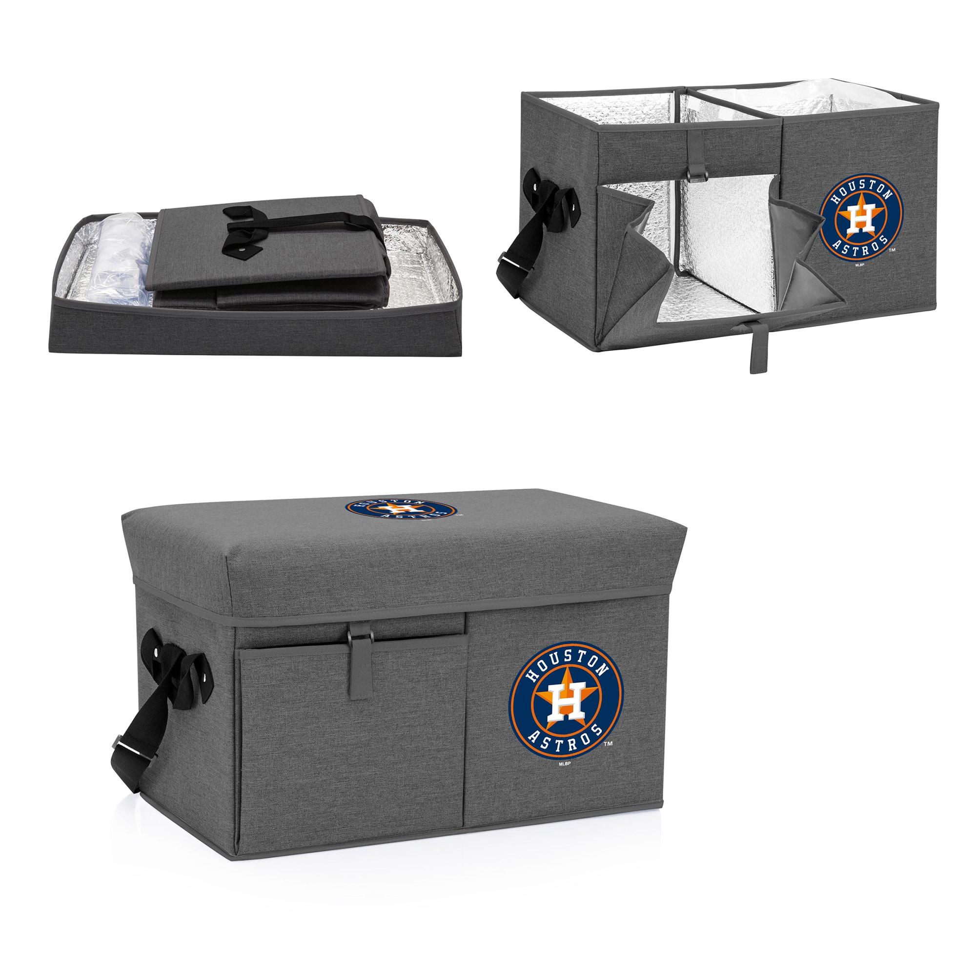 Houston Astros Ottoman Cooler & Seat - Gray