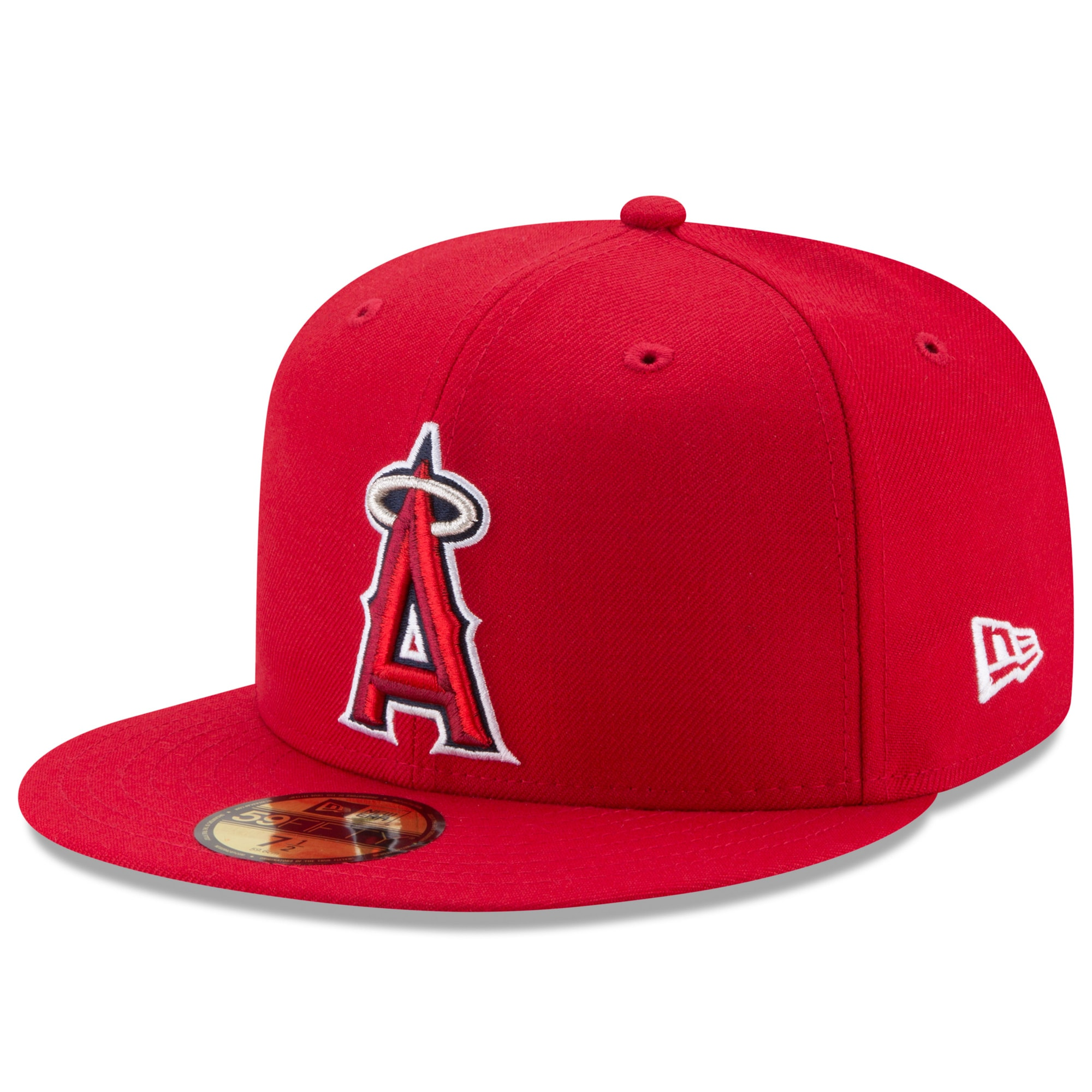 Los Angeles Angels New Era Game Authentic Collection On-Field 59FIFTY Fitted Hat - Red