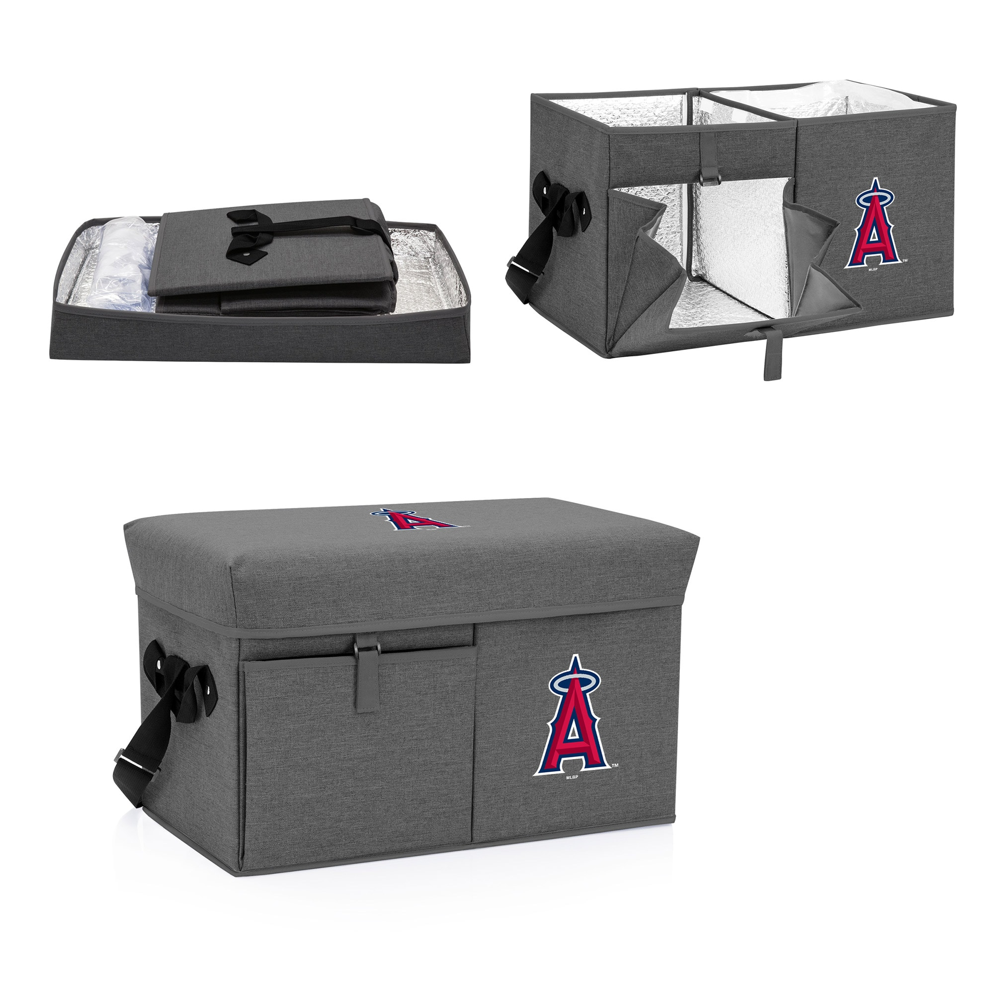 Los Angeles Angels Ottoman Cooler & Seat - Gray