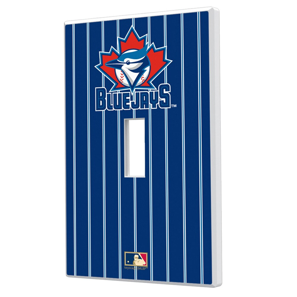 Toronto Blue Jays 1997-2002 Cooperstown Pinstripe Single Toggle Light Switch Plate
