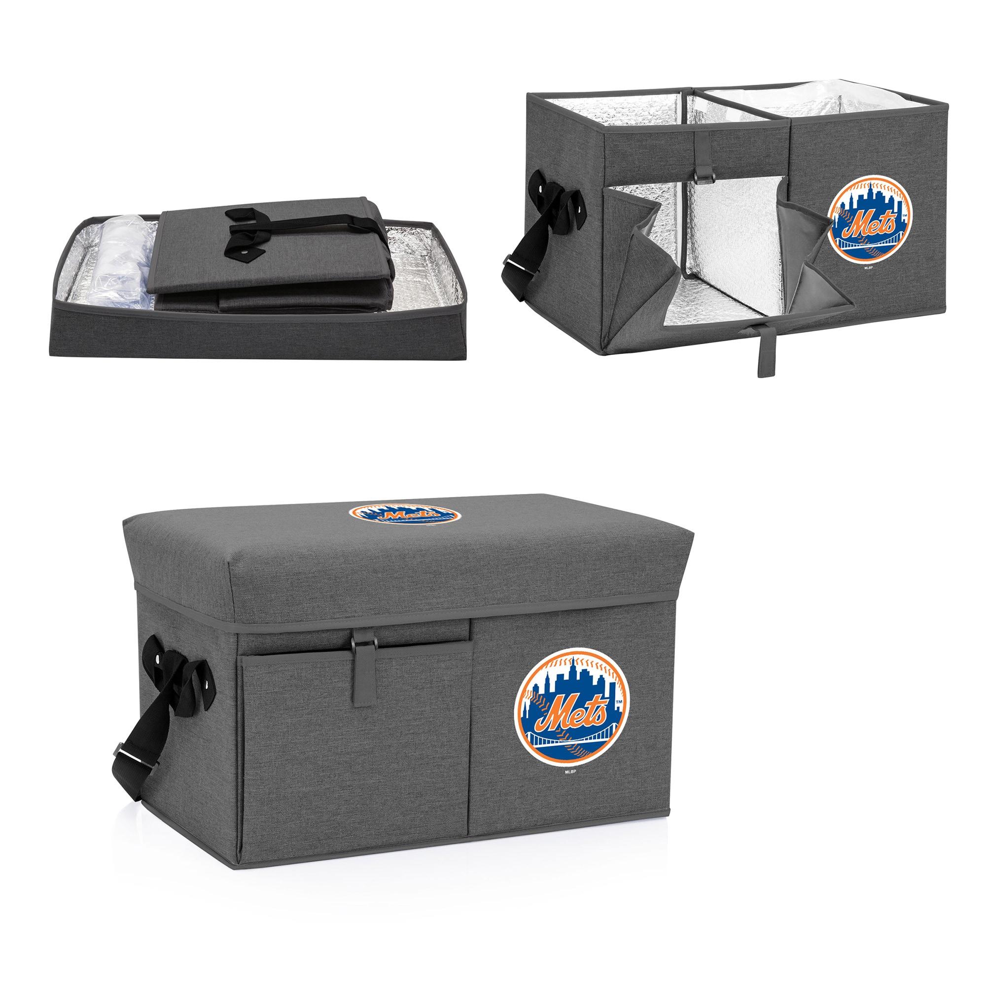 New York Mets Ottoman Cooler & Seat - Gray