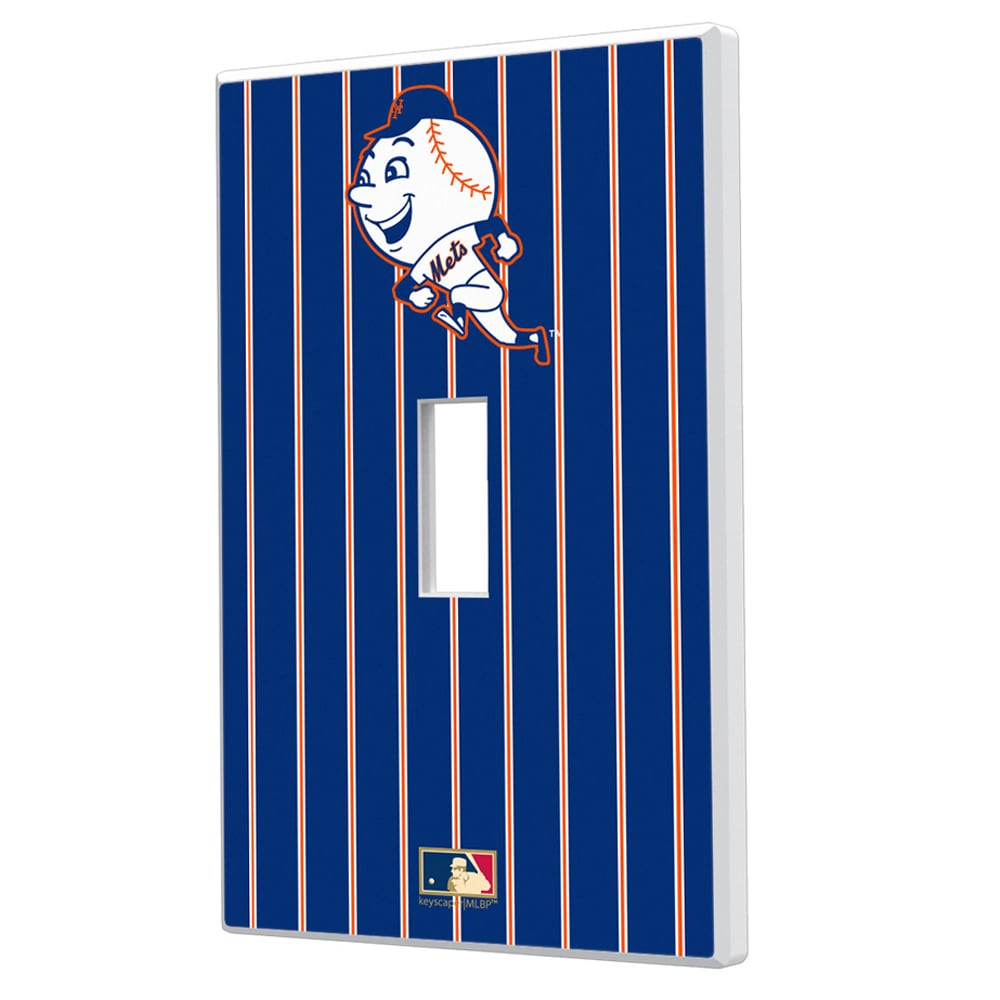 New York Mets 2014 Cooperstown Pinstripe Single Toggle Light Switch Plate