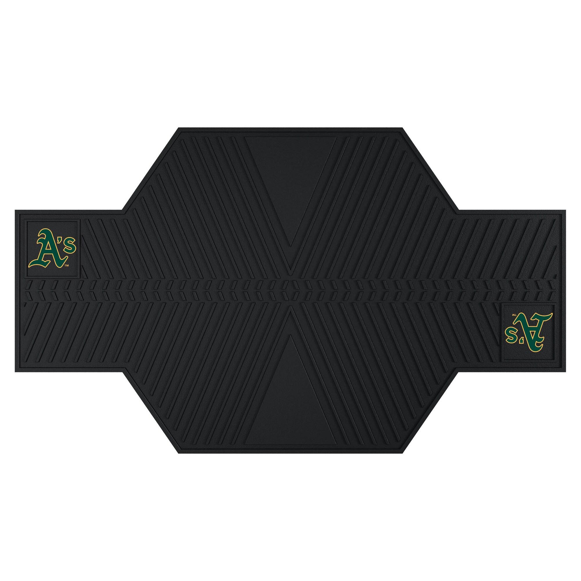 Oakland Athletics Motorcycle Mat