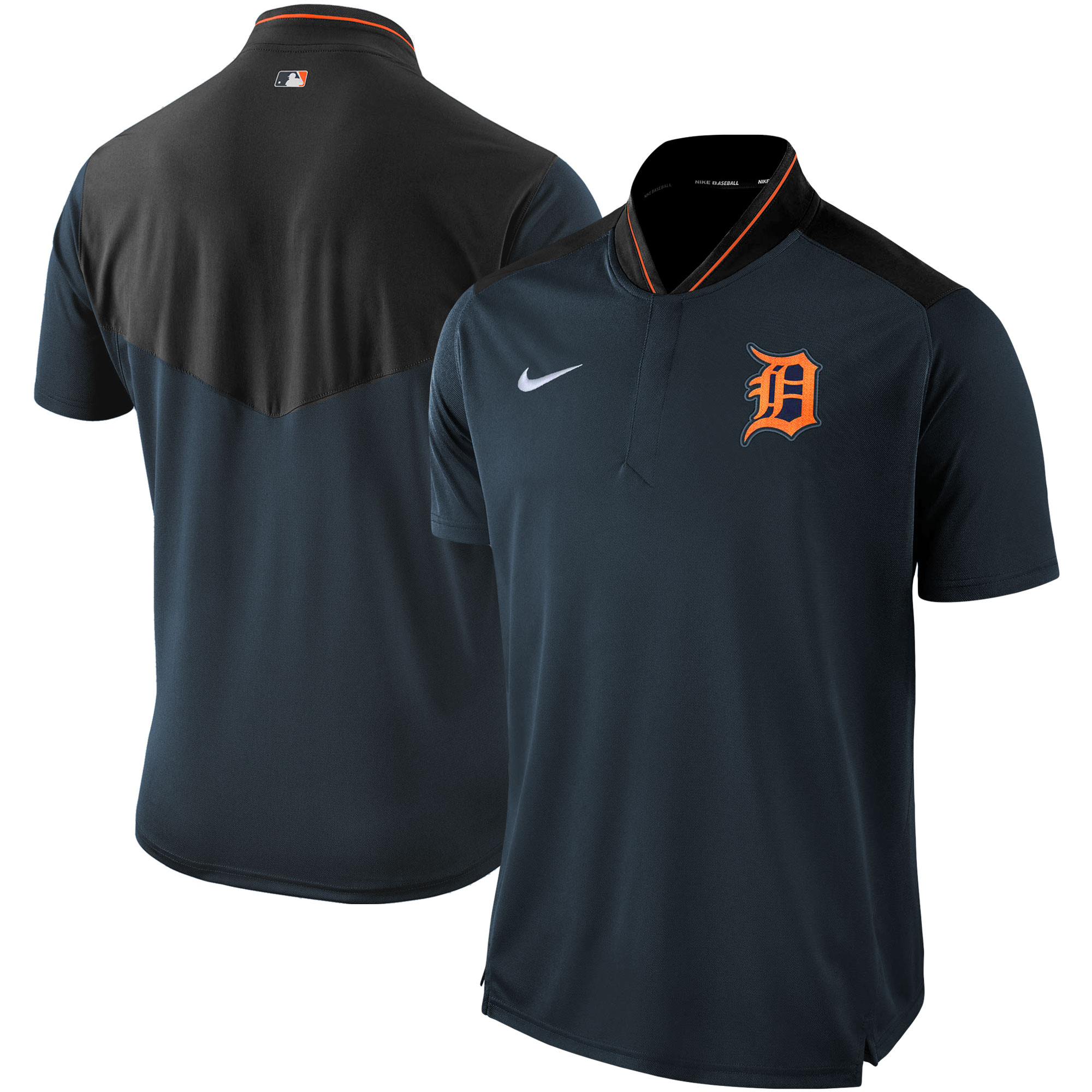 Detroit Tigers Nike Authentic Collection Elite Performance Polo - Navy