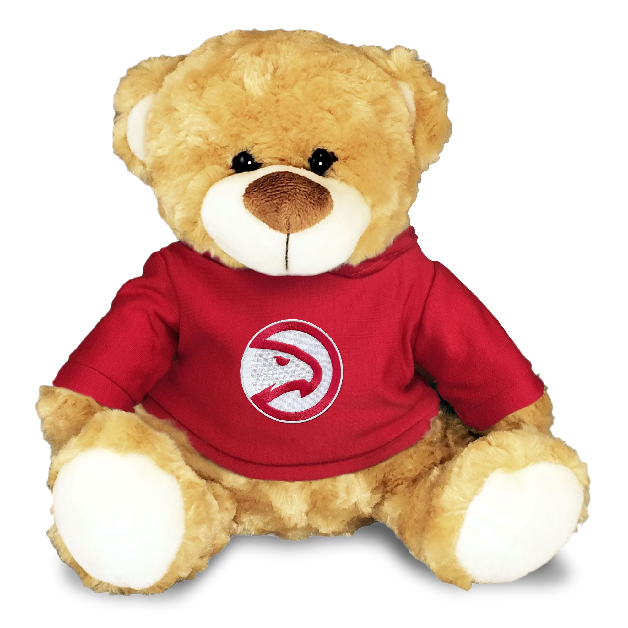 Atlanta Hawks Personalized 10'' Plush Bear - Red