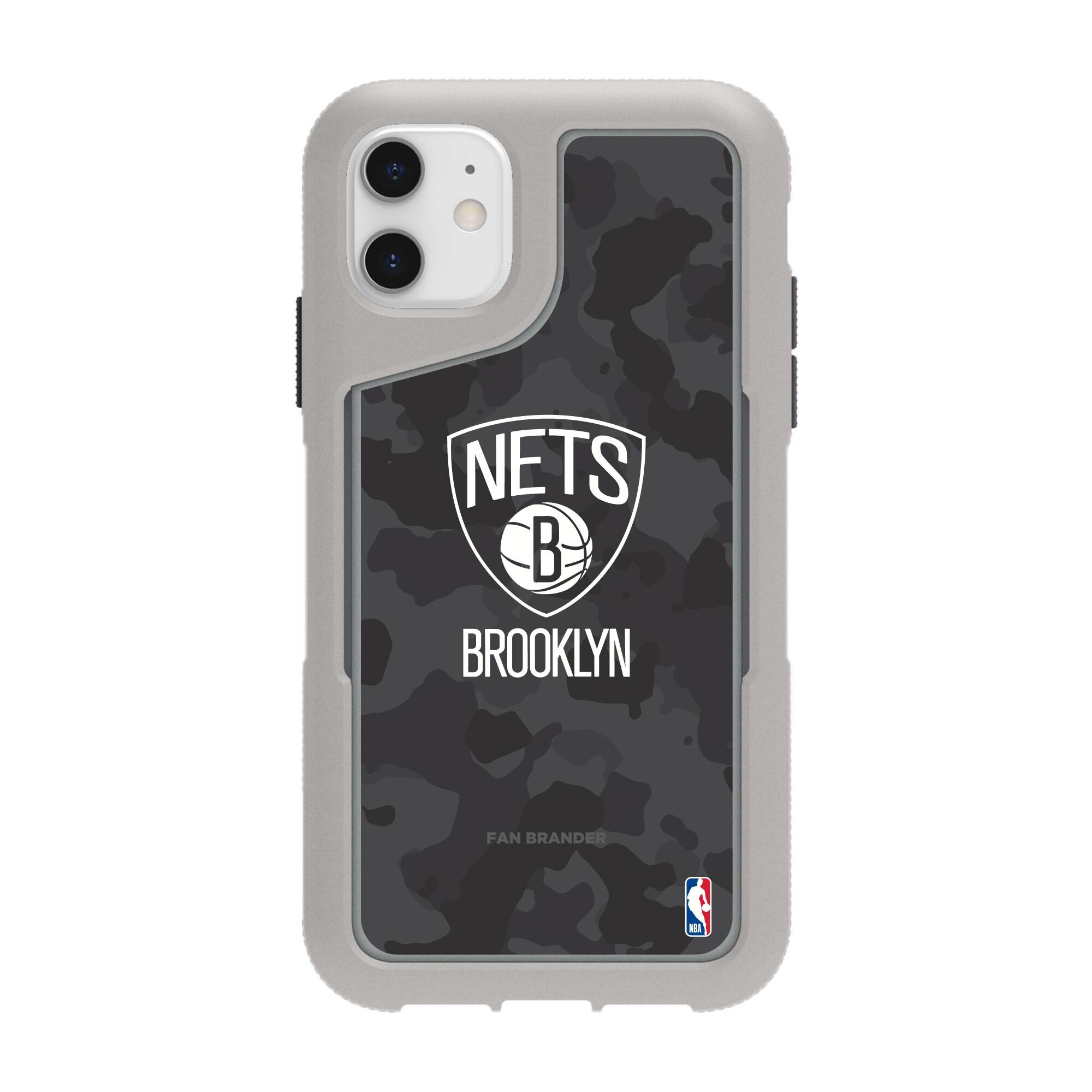 Brooklyn Nets Griffin Survivor Endurance Camo iPhone Case - Gray