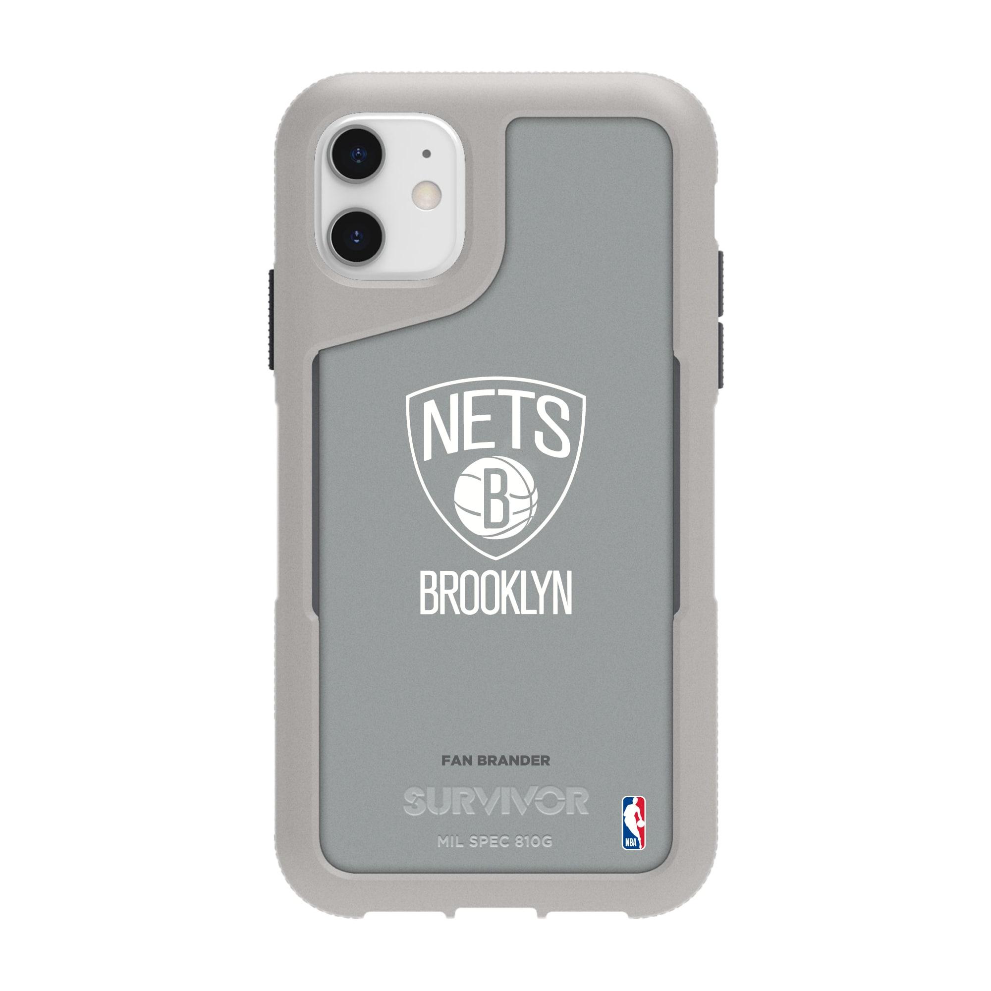 Brooklyn Nets Griffin Survivor Endurance iPhone Case - Gray