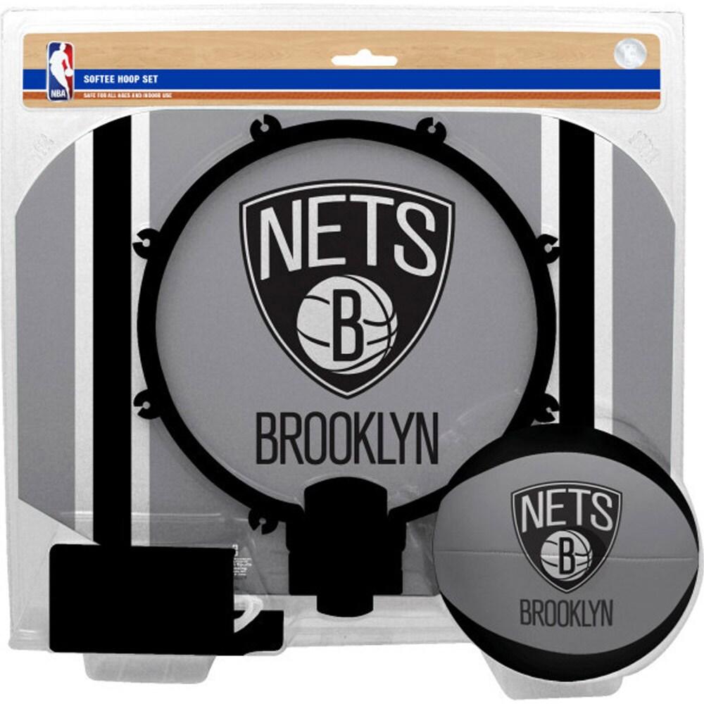 Brooklyn Nets Rawlings Softee Hoop & Ball Set