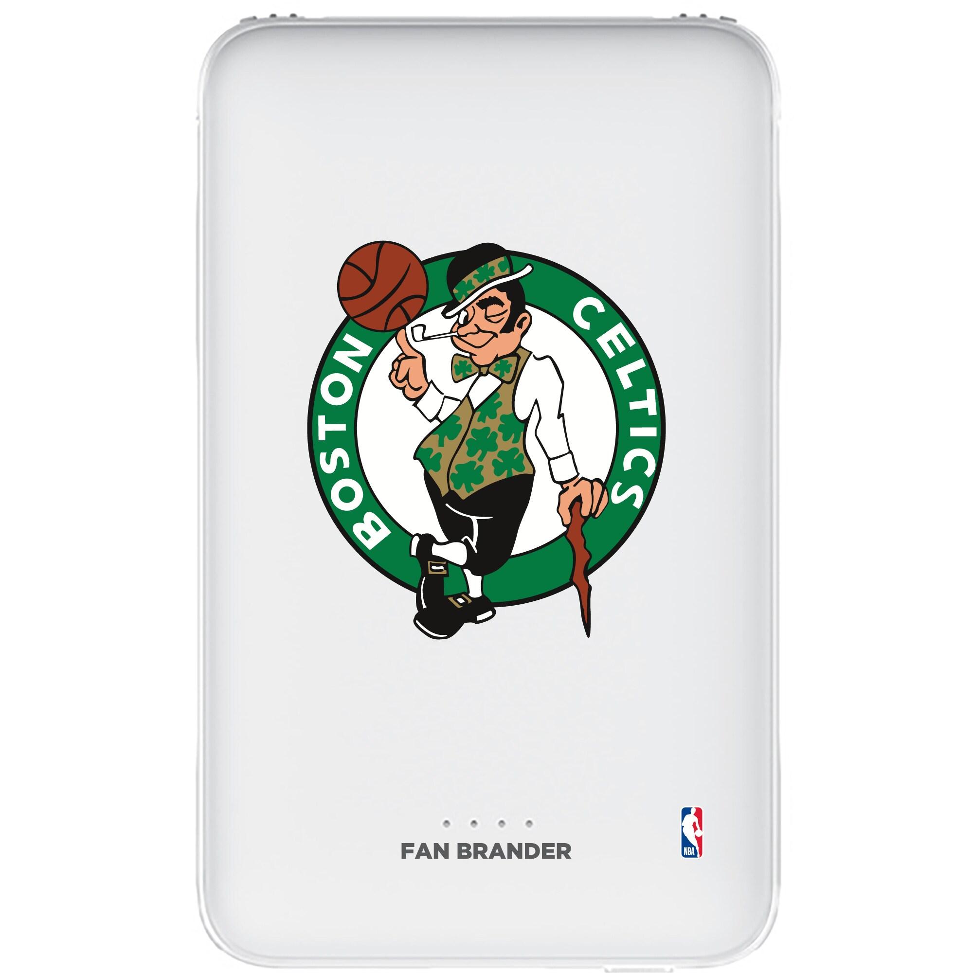 Boston Celtics 5000mAh Portable Power Bank - White