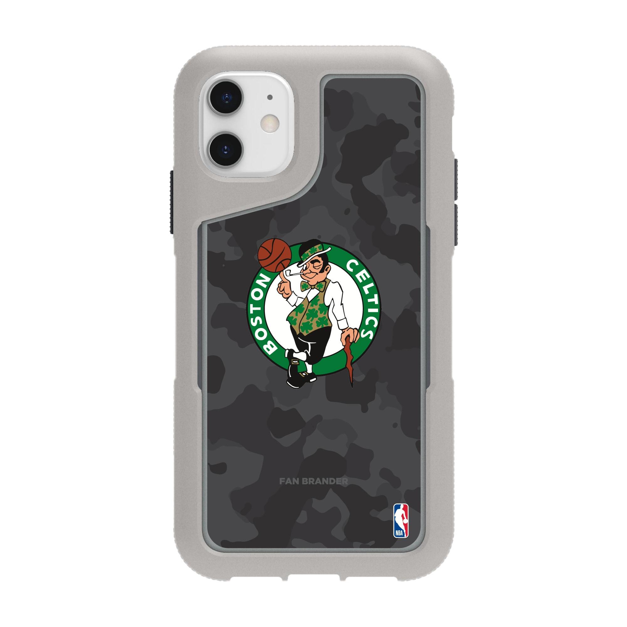 Boston Celtics Griffin Survivor Endurance Camo iPhone Case - Gray