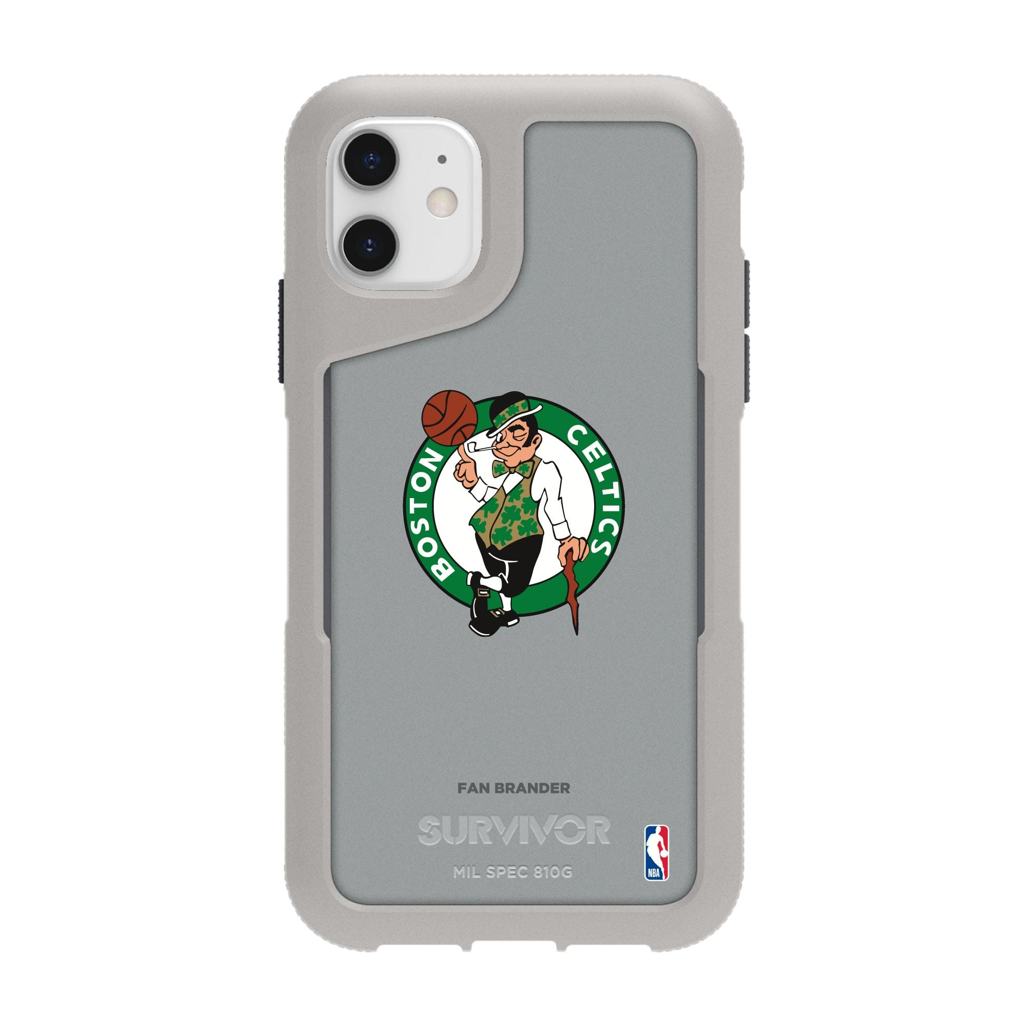 Boston Celtics Griffin Survivor Endurance iPhone Case - Gray