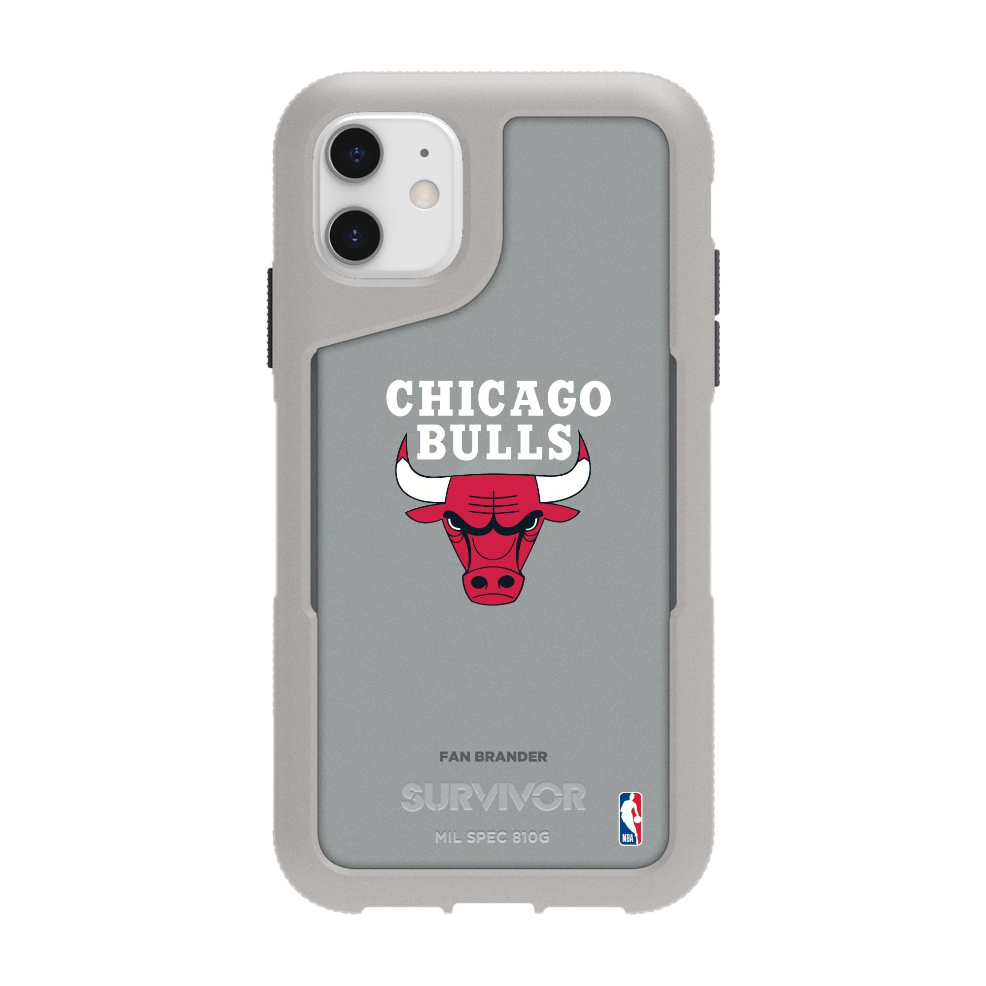Chicago Bulls Griffin Survivor Endurance iPhone Case - Gray