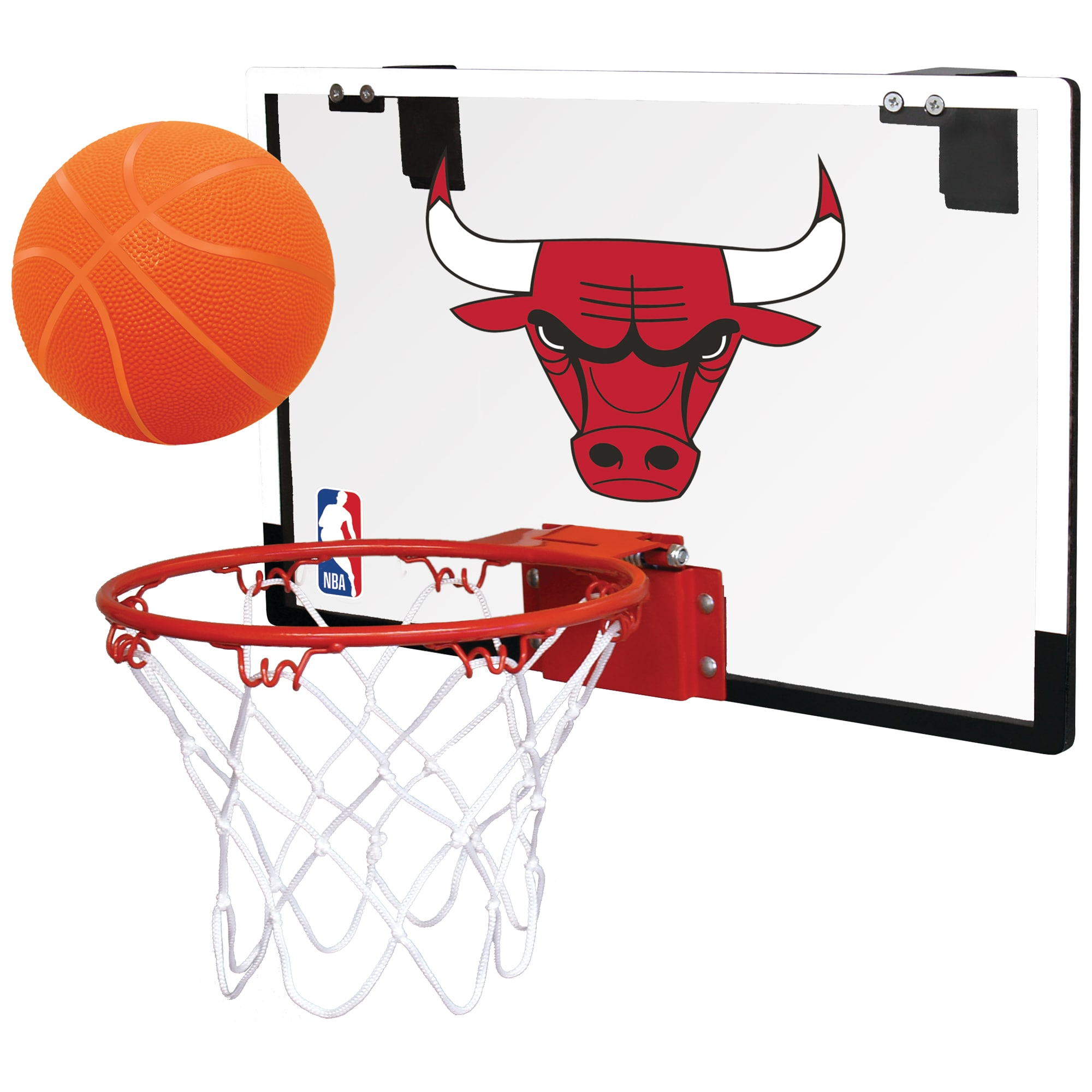 Chicago Bulls Rawlings NBA Polycarbonate Hoop Set