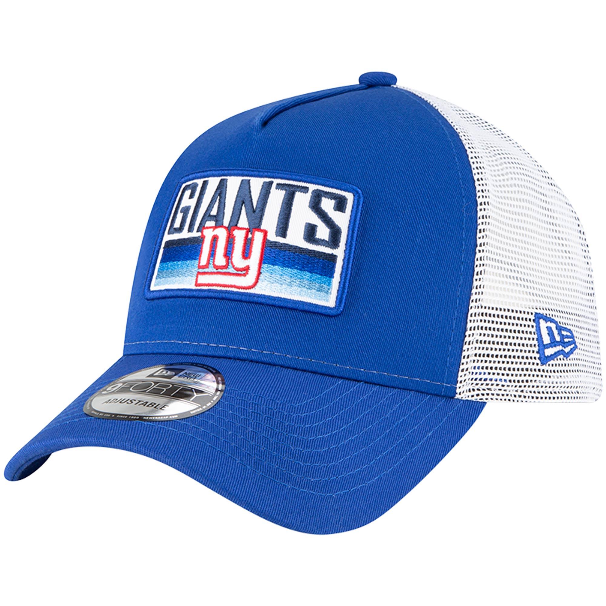 New York Giants New Era Cruiser 9FORTY Snapback Hat - Royal
