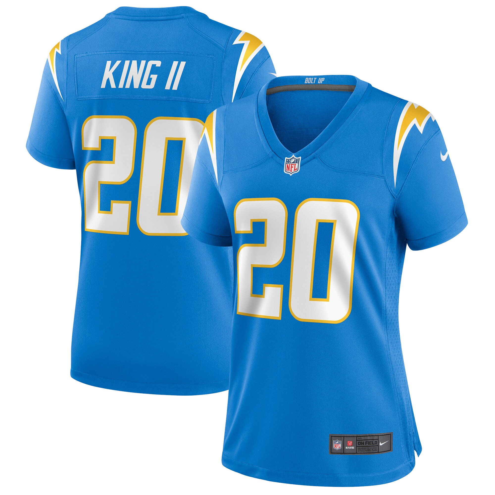 Desmond King Los Angeles Chargers Nike Women's Game Jersey - Powder Blue