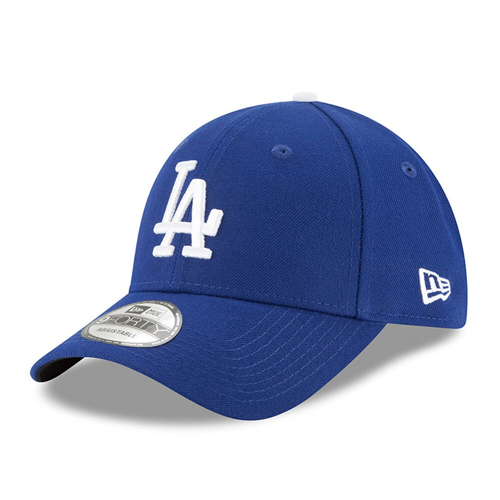 Los Angeles Dodgers New Era Men's League 9Forty Adjustable Hat - Royal