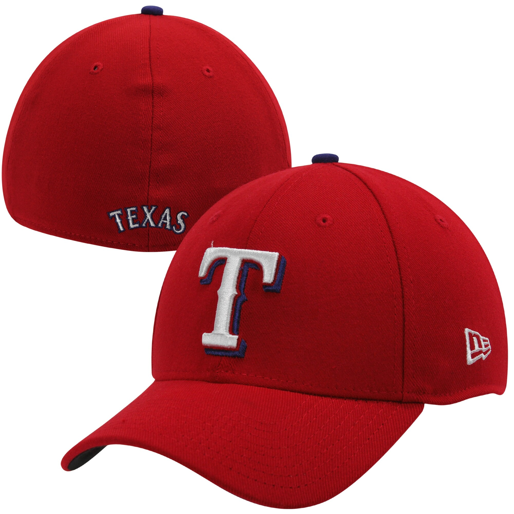 New Era Texas Rangers MLB Team Classic 39THIRTY Flex Hat - Red