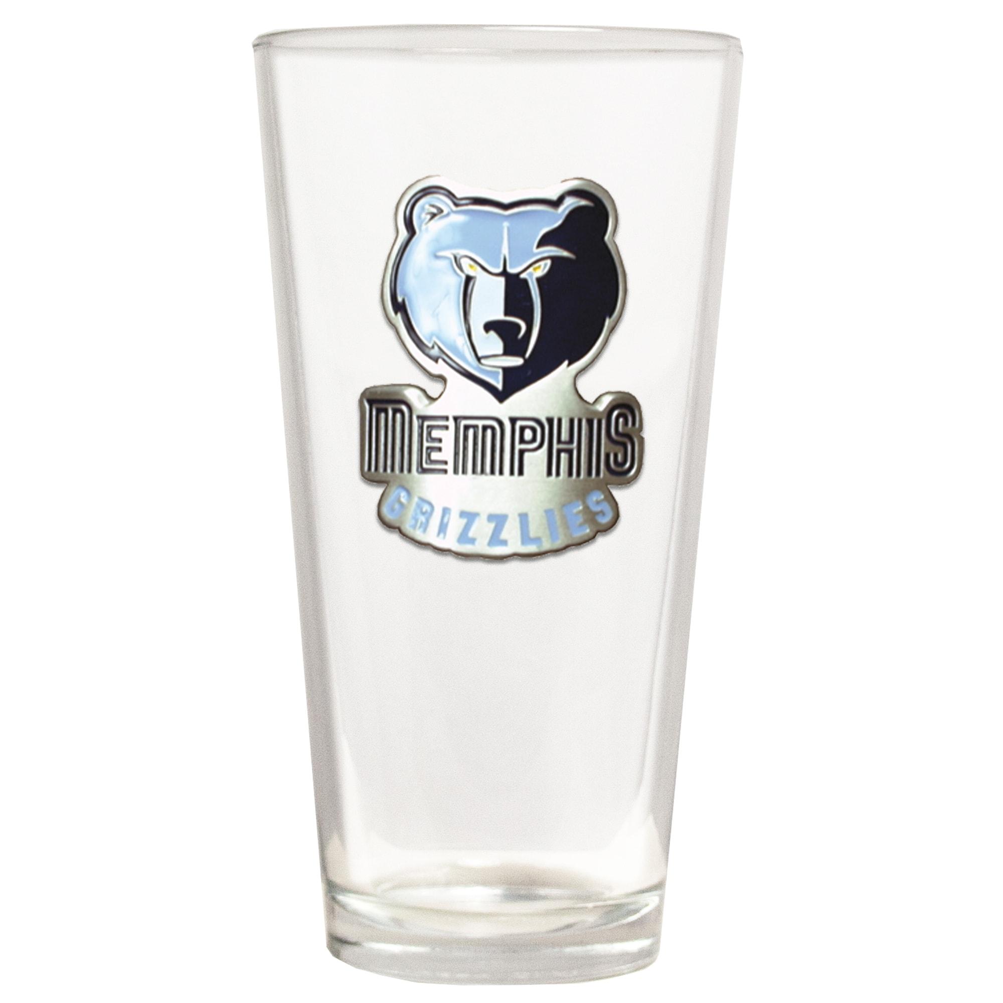 Memphis Grizzlies The Blast 22oz. Pint Glass