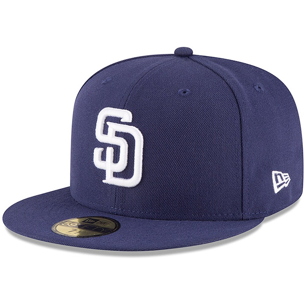 San Diego Padres New Era Authentic Collection On-Field 59FIFTY Fitted Hat - Navy