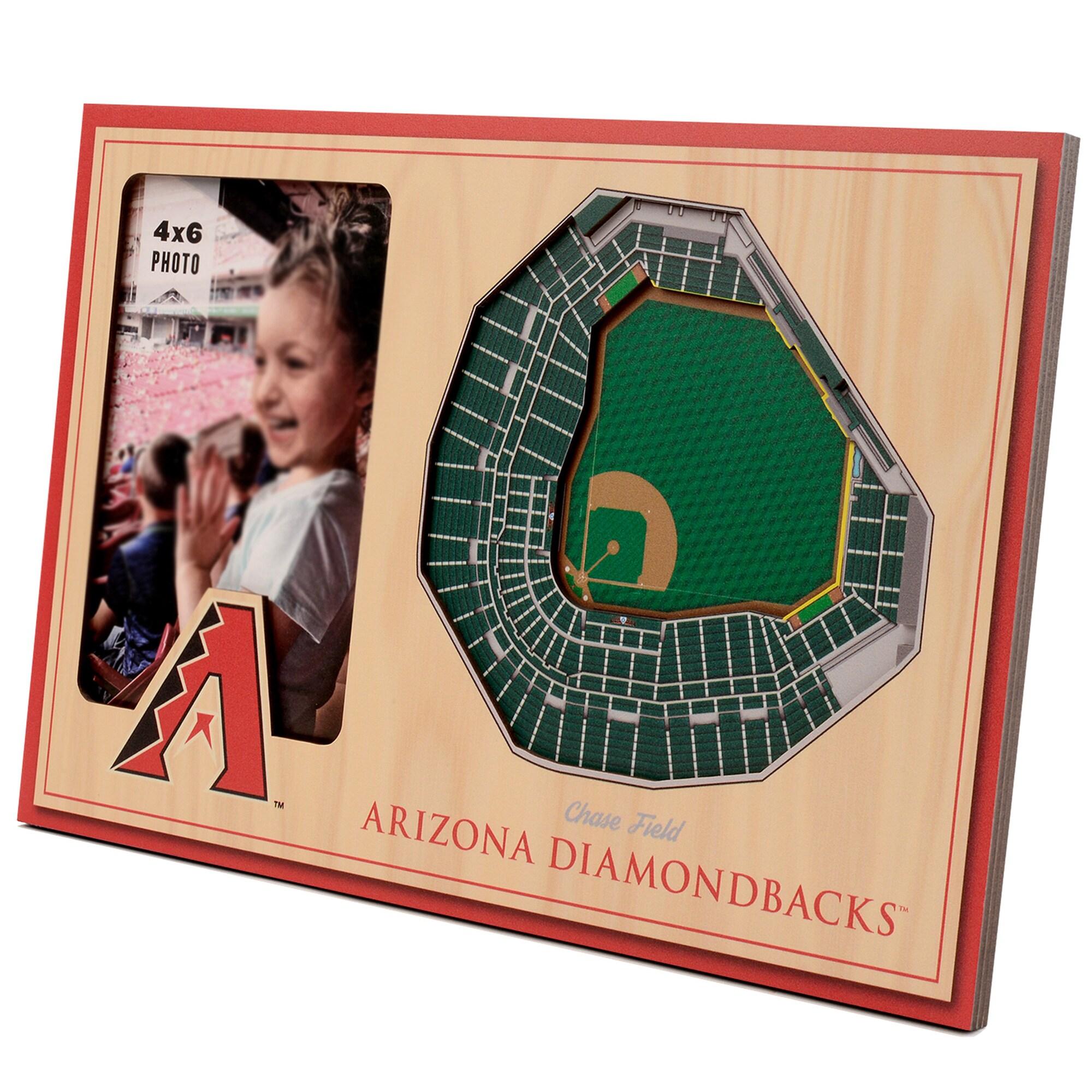 Arizona Diamondbacks 3D StadiumViews Picture Frame - Brown