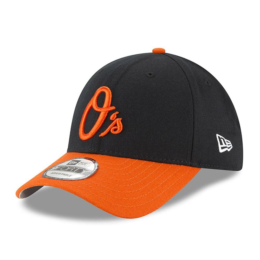 Baltimore Orioles Men's New Era League 9FORTY Adjustable Hat - Black