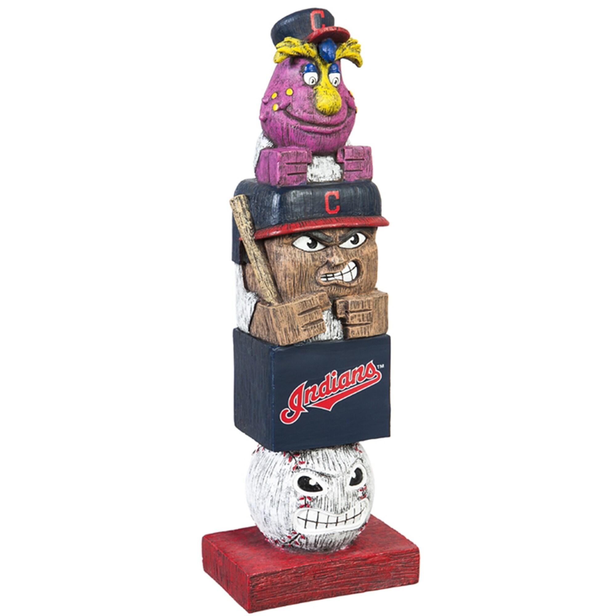 "Cleveland Indians 16"" Team Tiki Totem"