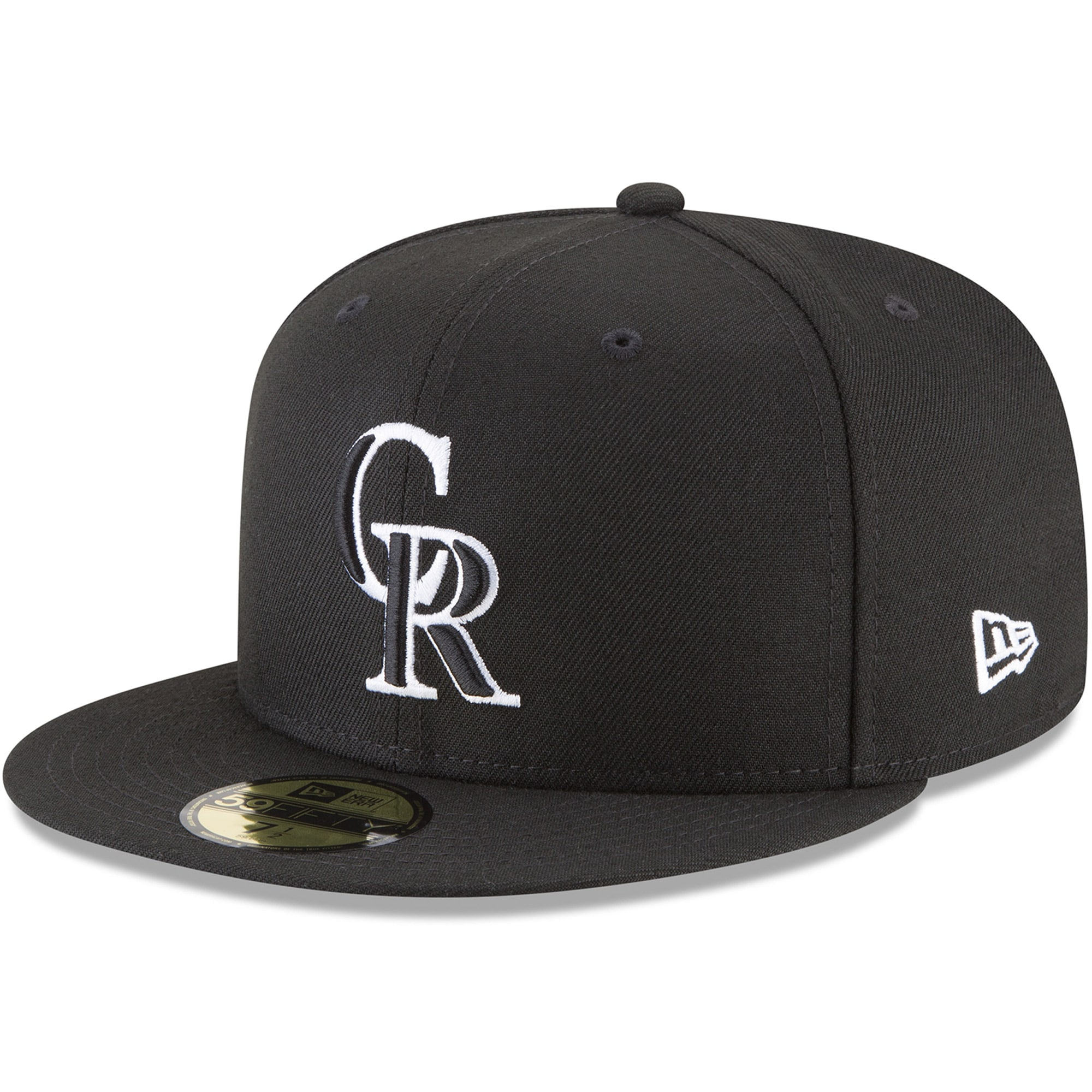 Colorado Rockies New Era 59FIFTY Fitted Hat - Black