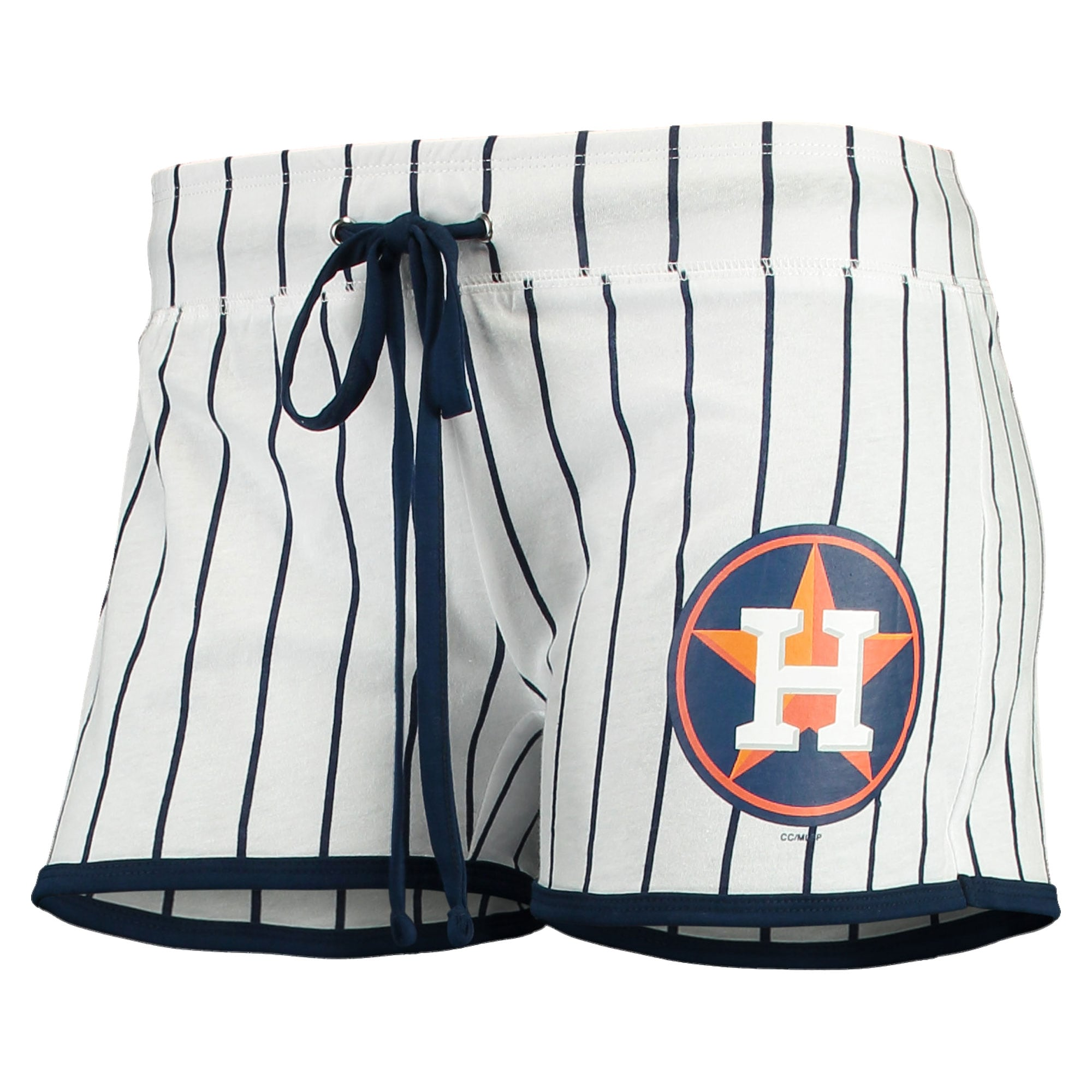 Houston Astros Concepts Sport Women's Vigor Sleep Shorts - White/Navy