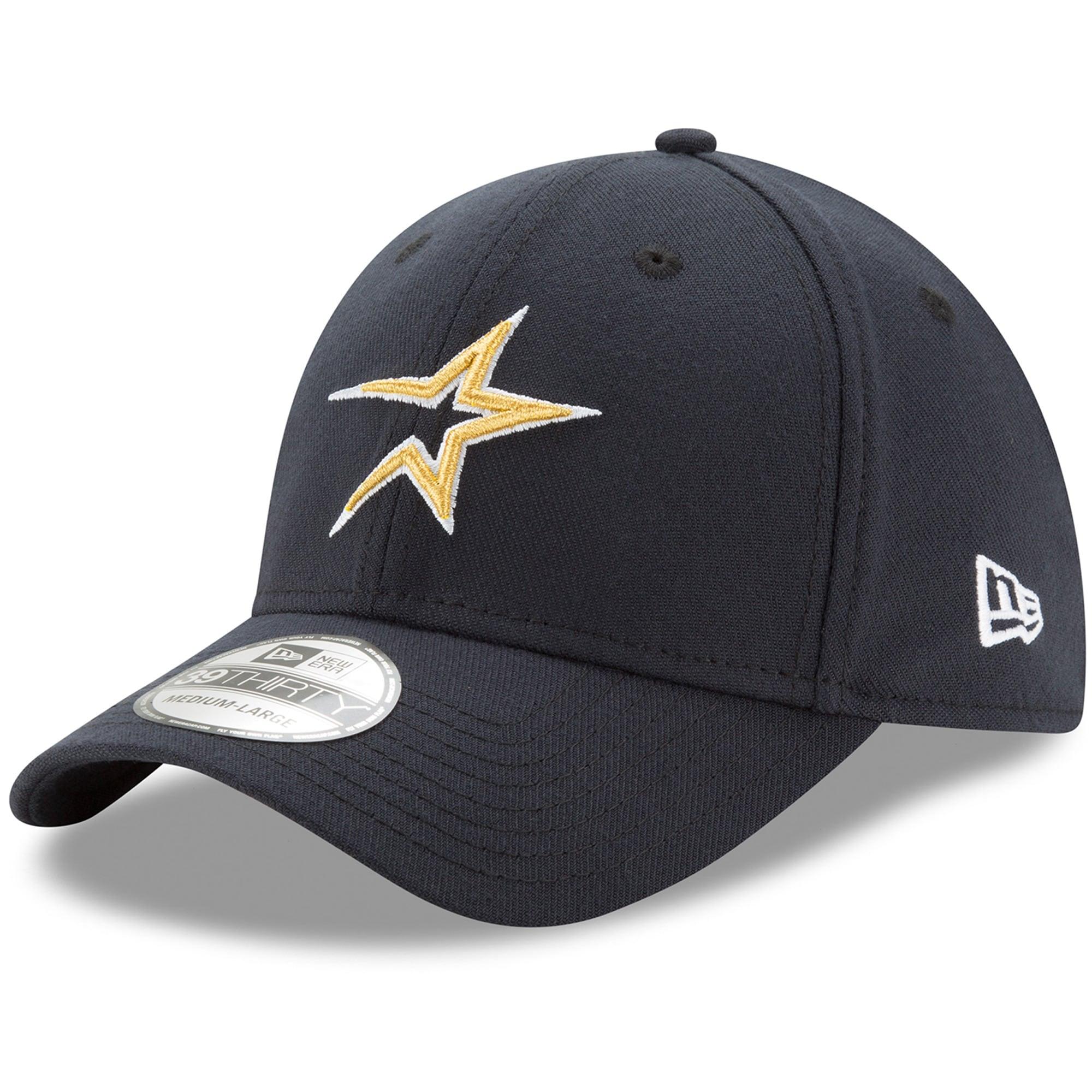 Houston Astros New Era Cooperstown Collection Team Classic 39THIRTY Flex Hat - Navy