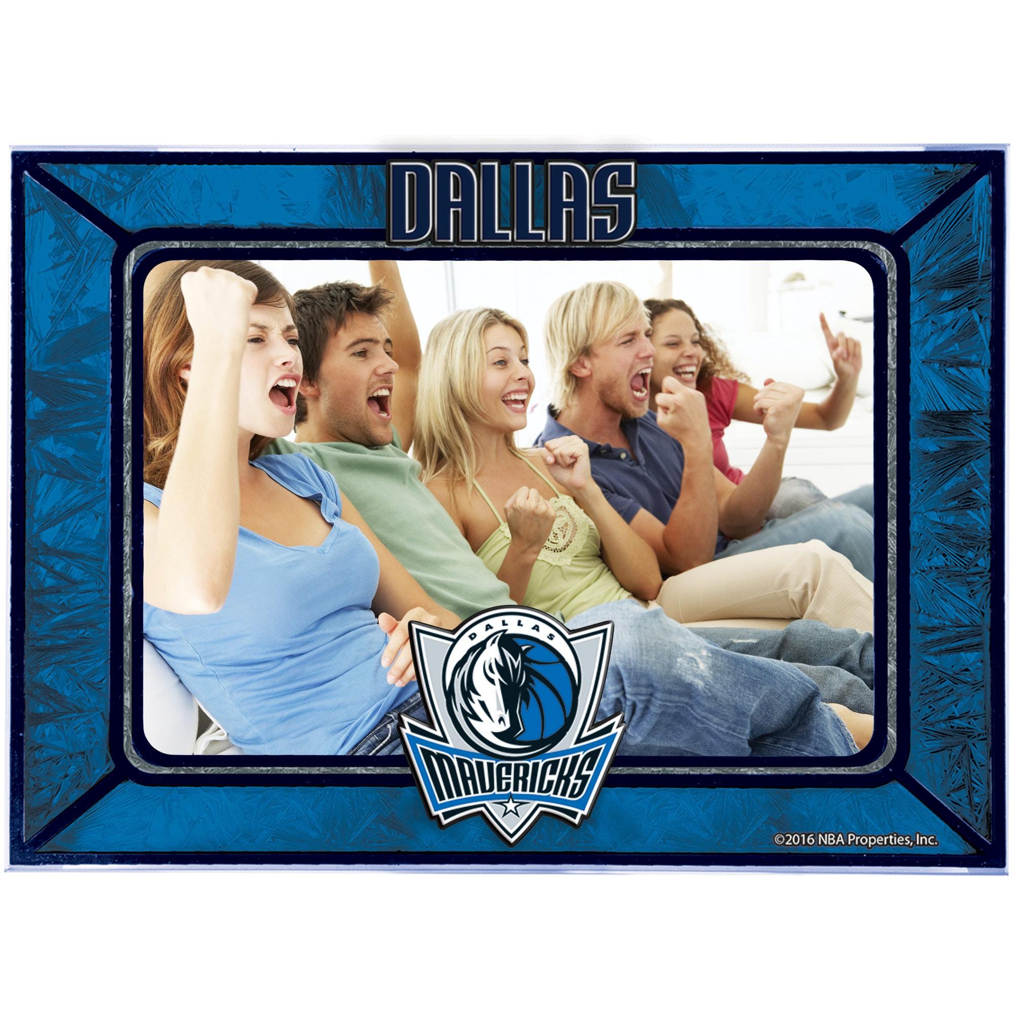 Dallas Mavericks Horizontal Art Glass Frame