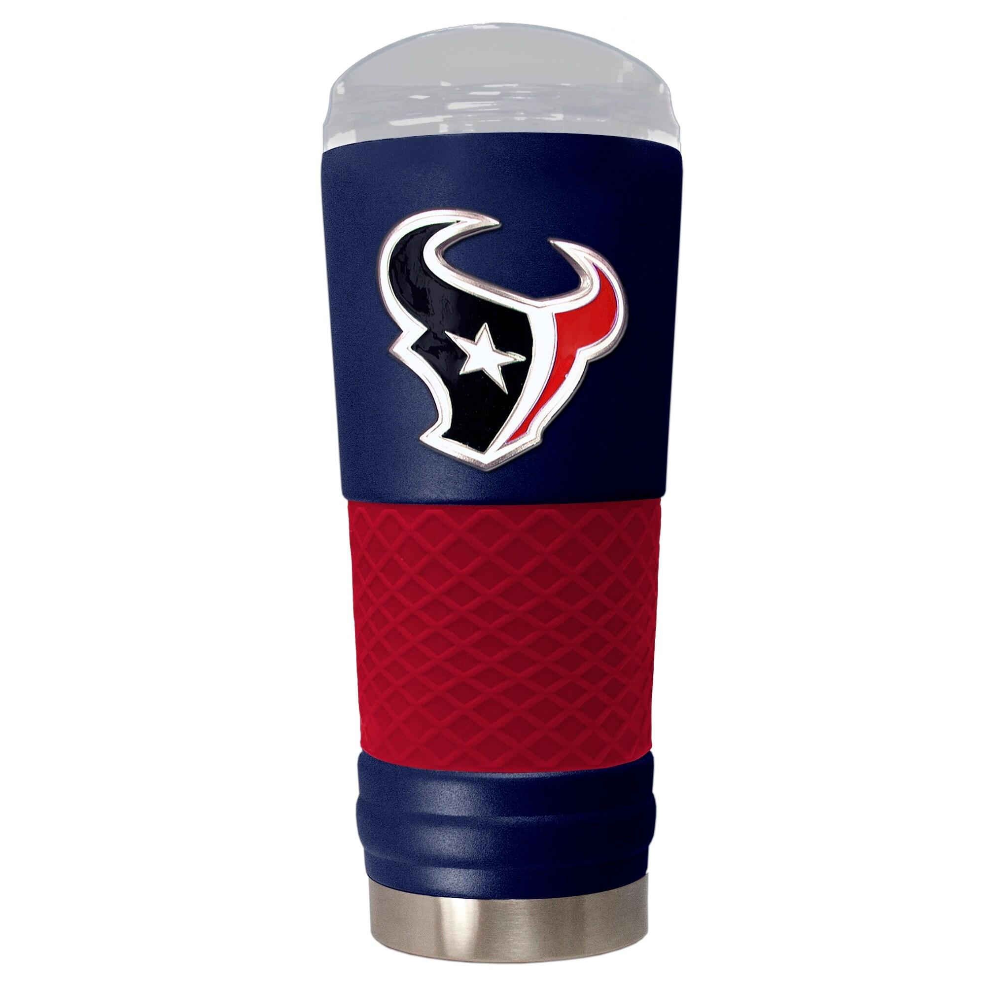 Houston Texans 24oz. Powder Coated Draft Travel Mug - Blue