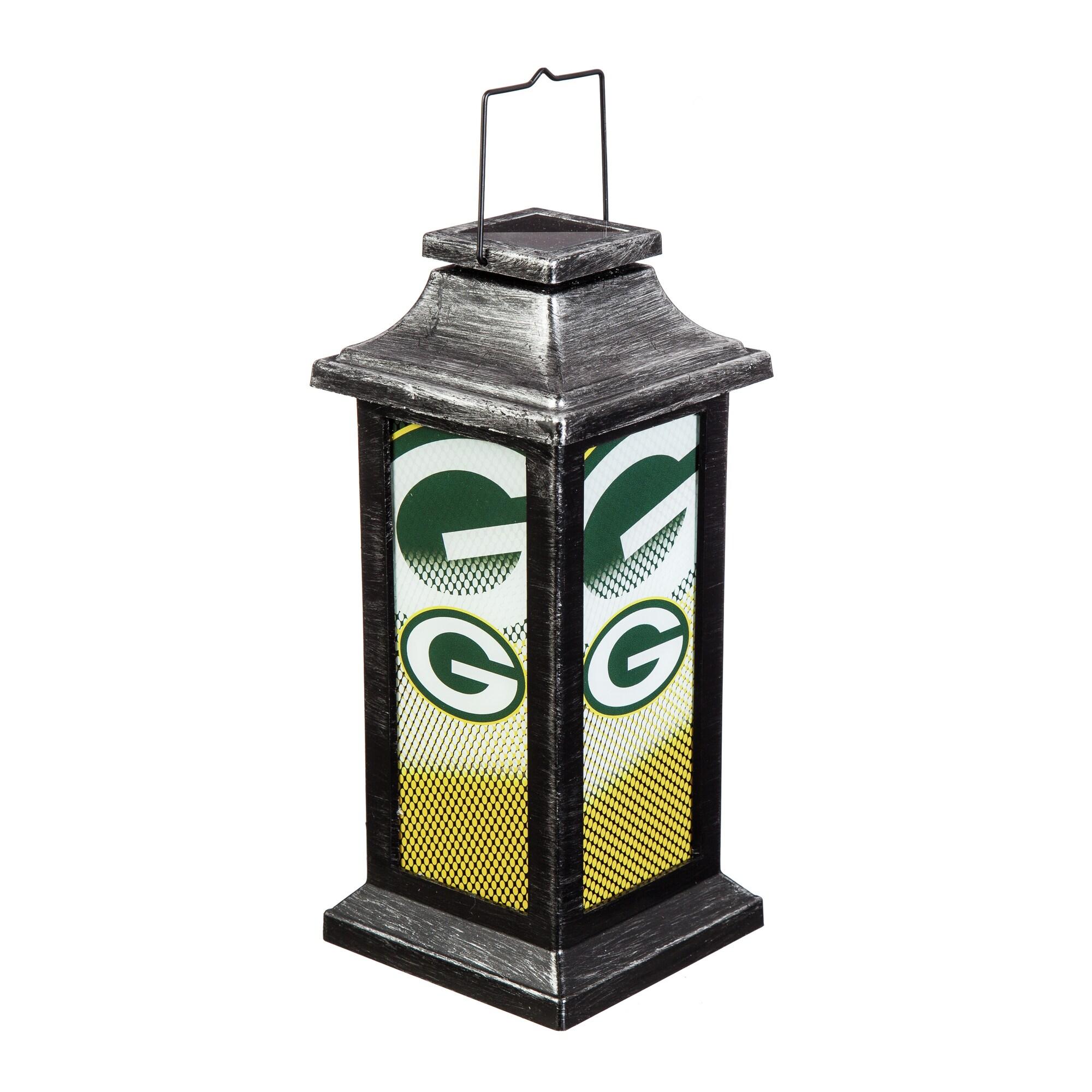 Green Bay Packers Solar Garden Lantern