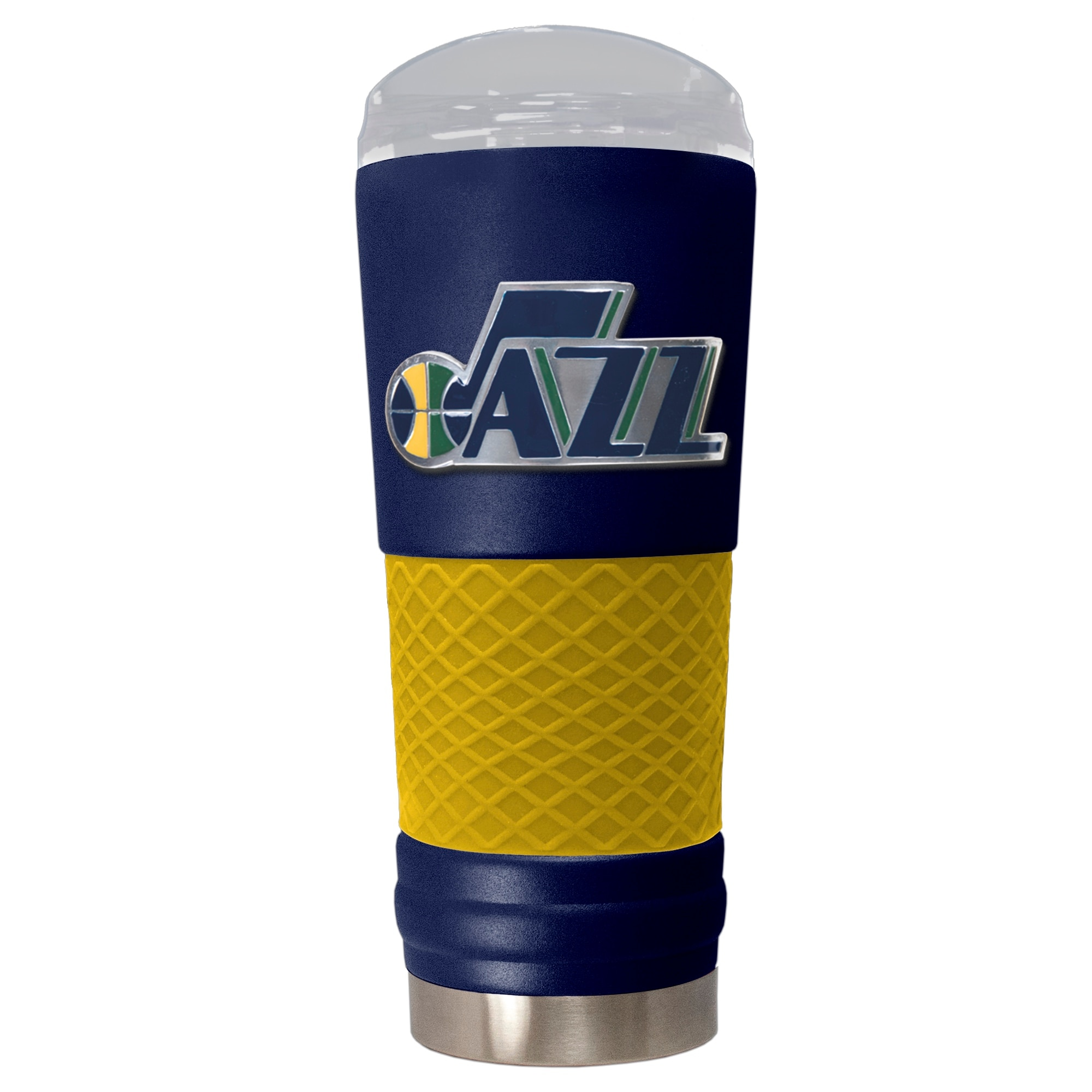Utah Jazz 24oz. Powder Coated Draft Travel Mug - Blue