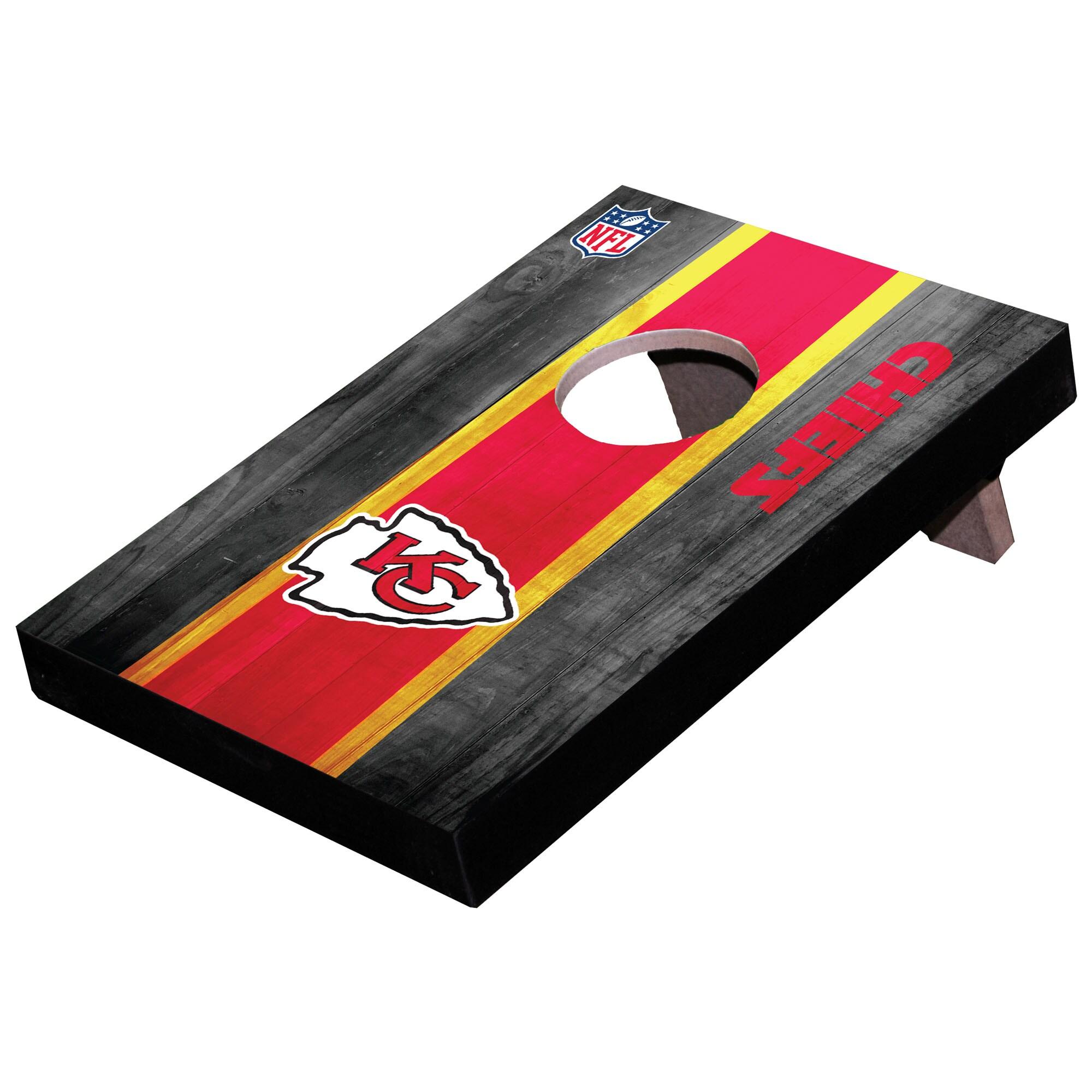 Kansas City Chiefs Wooden Table Top Toss Set