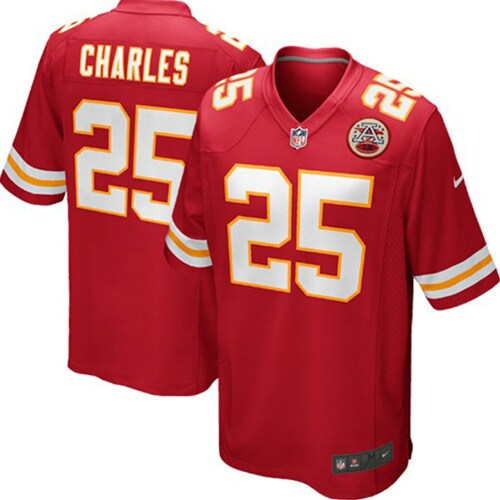 Jamaal Charles Kansas City Chiefs Nike Youth Team Color Game Jersey - Red